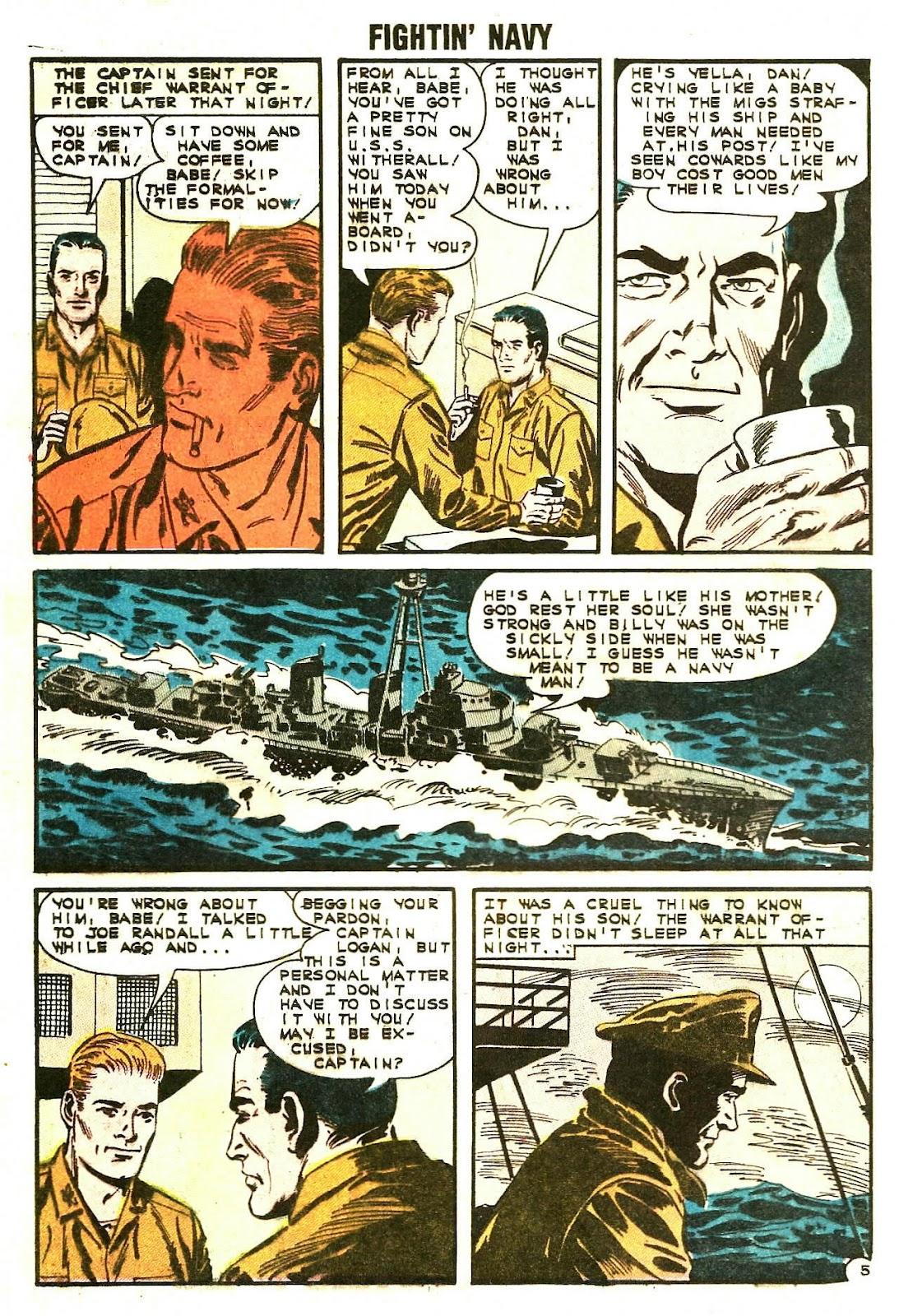 Read online Fightin' Navy comic -  Issue #107 - 12