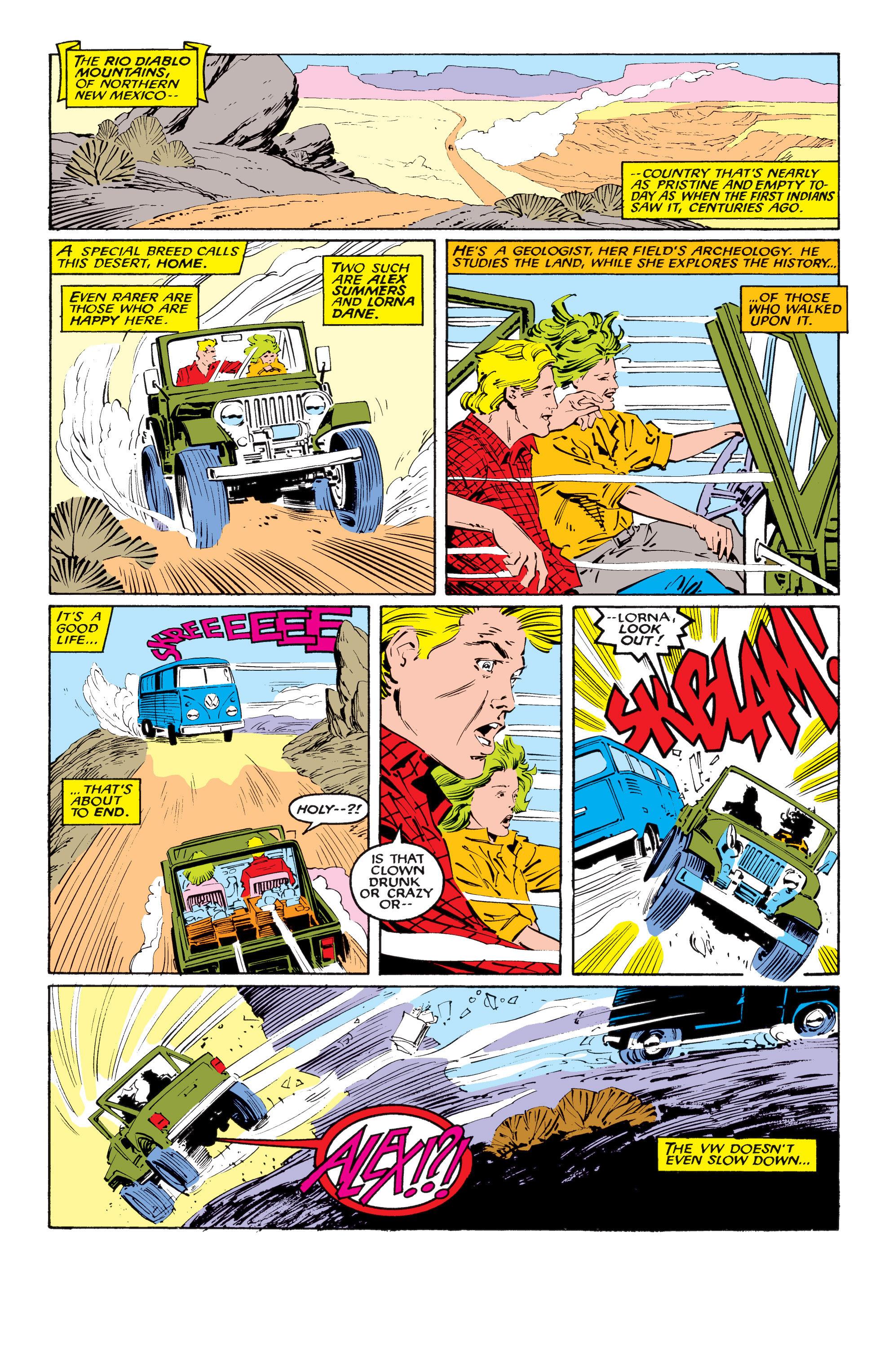 Uncanny X-Men (1963) 218 Page 2