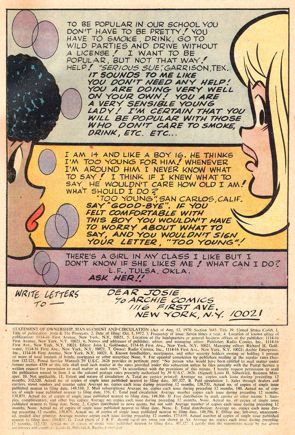 Read online She's Josie comic -  Issue #68 - 43