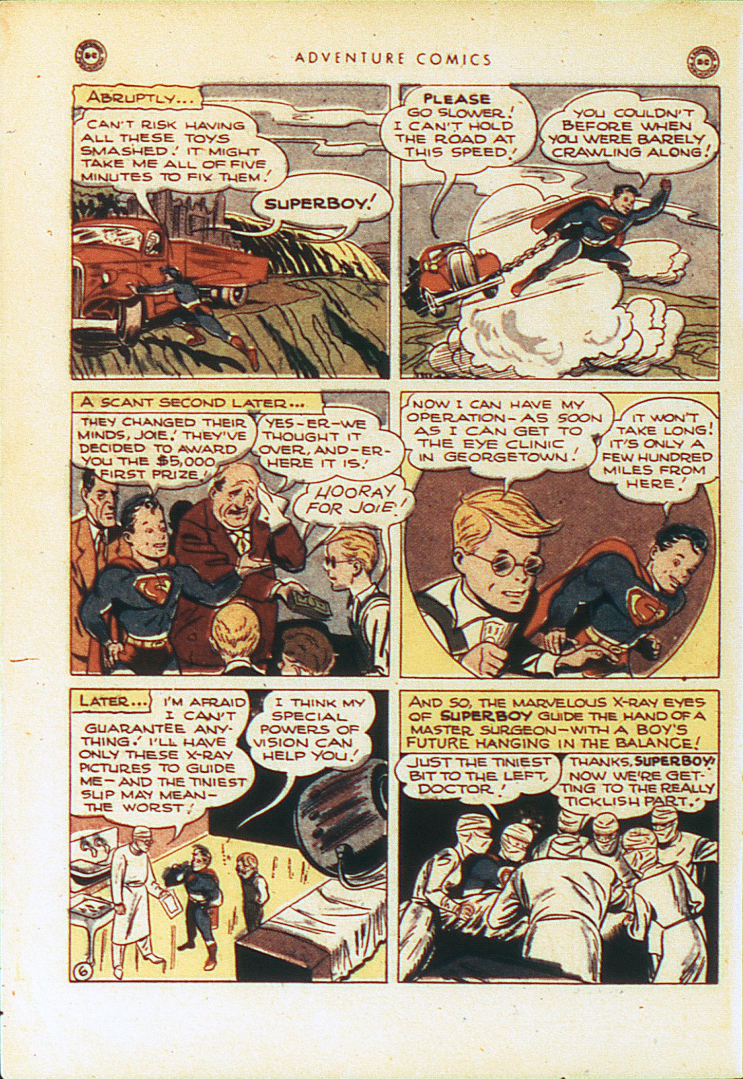 Read online Adventure Comics (1938) comic -  Issue #104 - 9