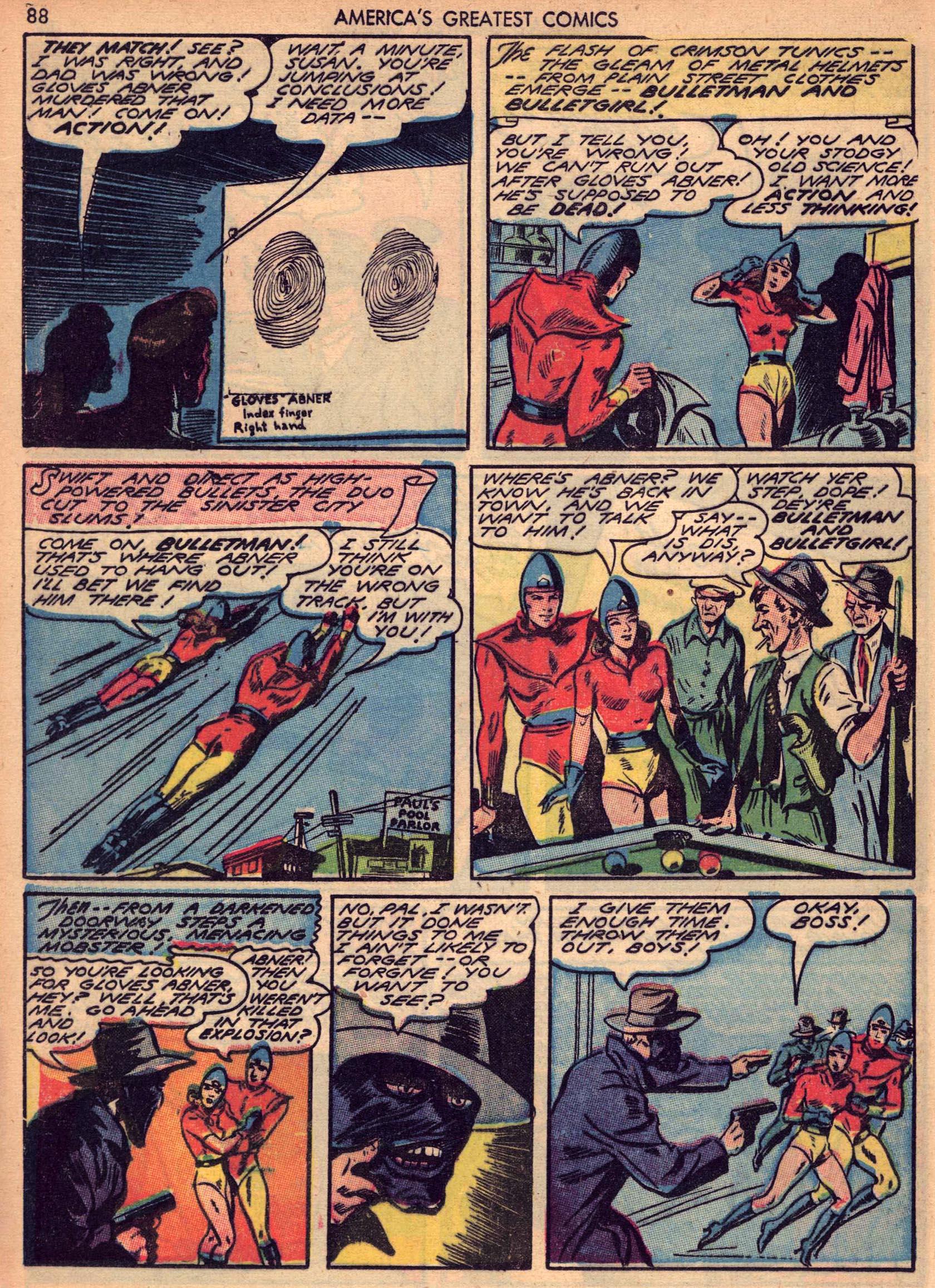 Read online America's Greatest Comics comic -  Issue #7 - 87