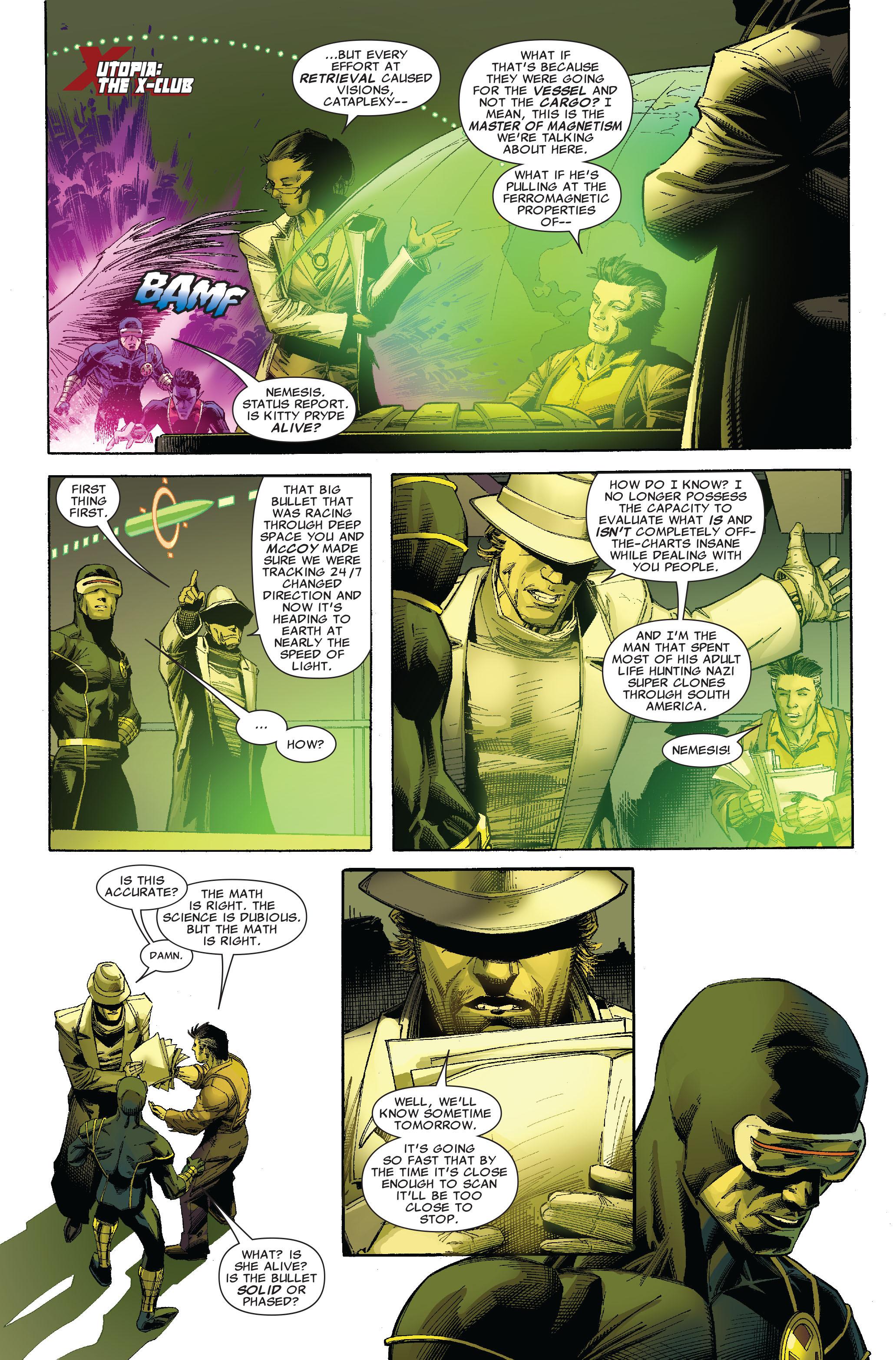 Read online Uncanny X-Men (1963) comic -  Issue #522 - 8