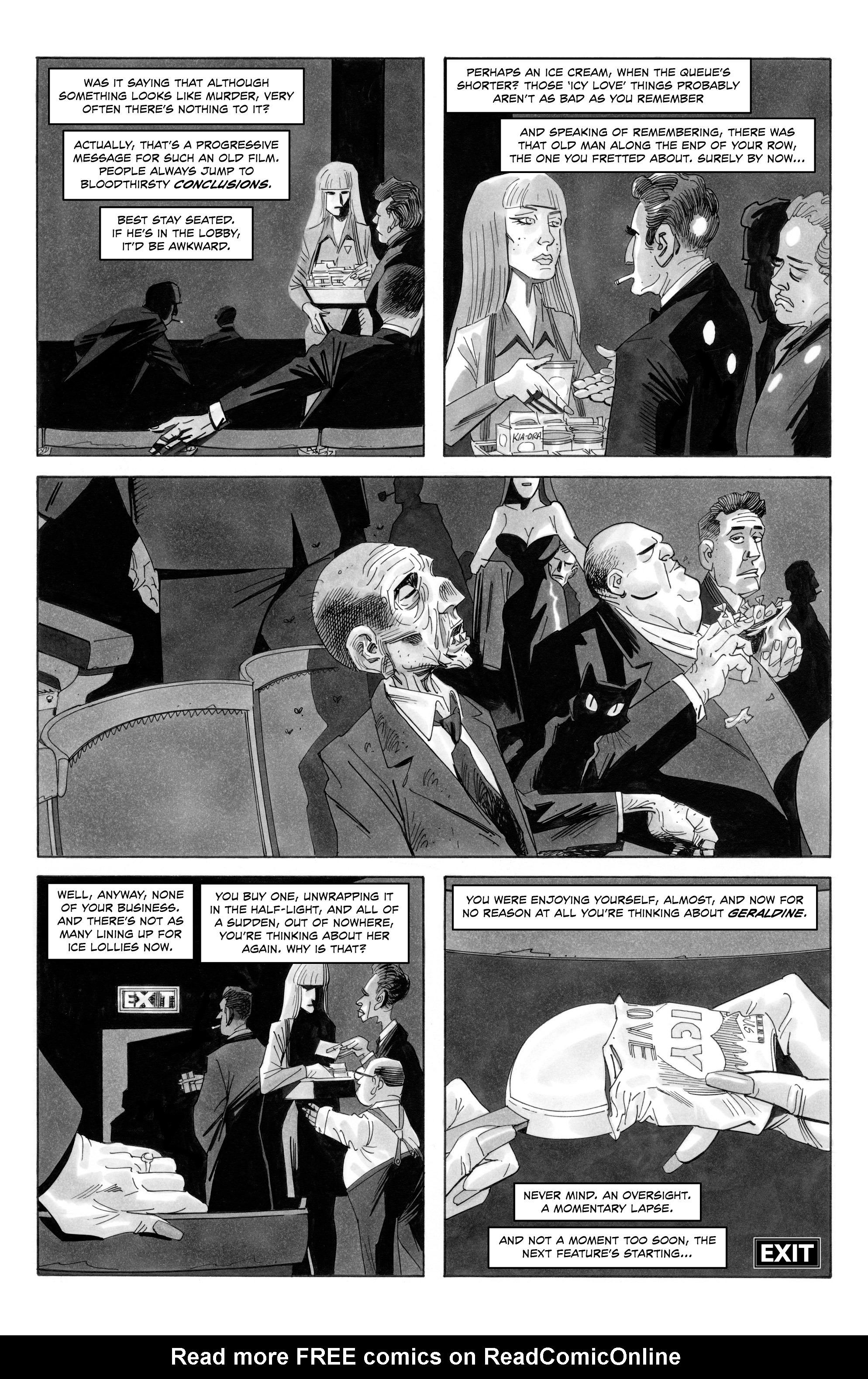 Read online Alan Moore's Cinema Purgatorio comic -  Issue #9 - 12