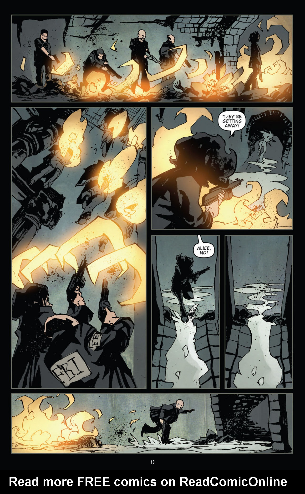 Read online 30 Days of Night (2011) comic -  Issue #10 - 19