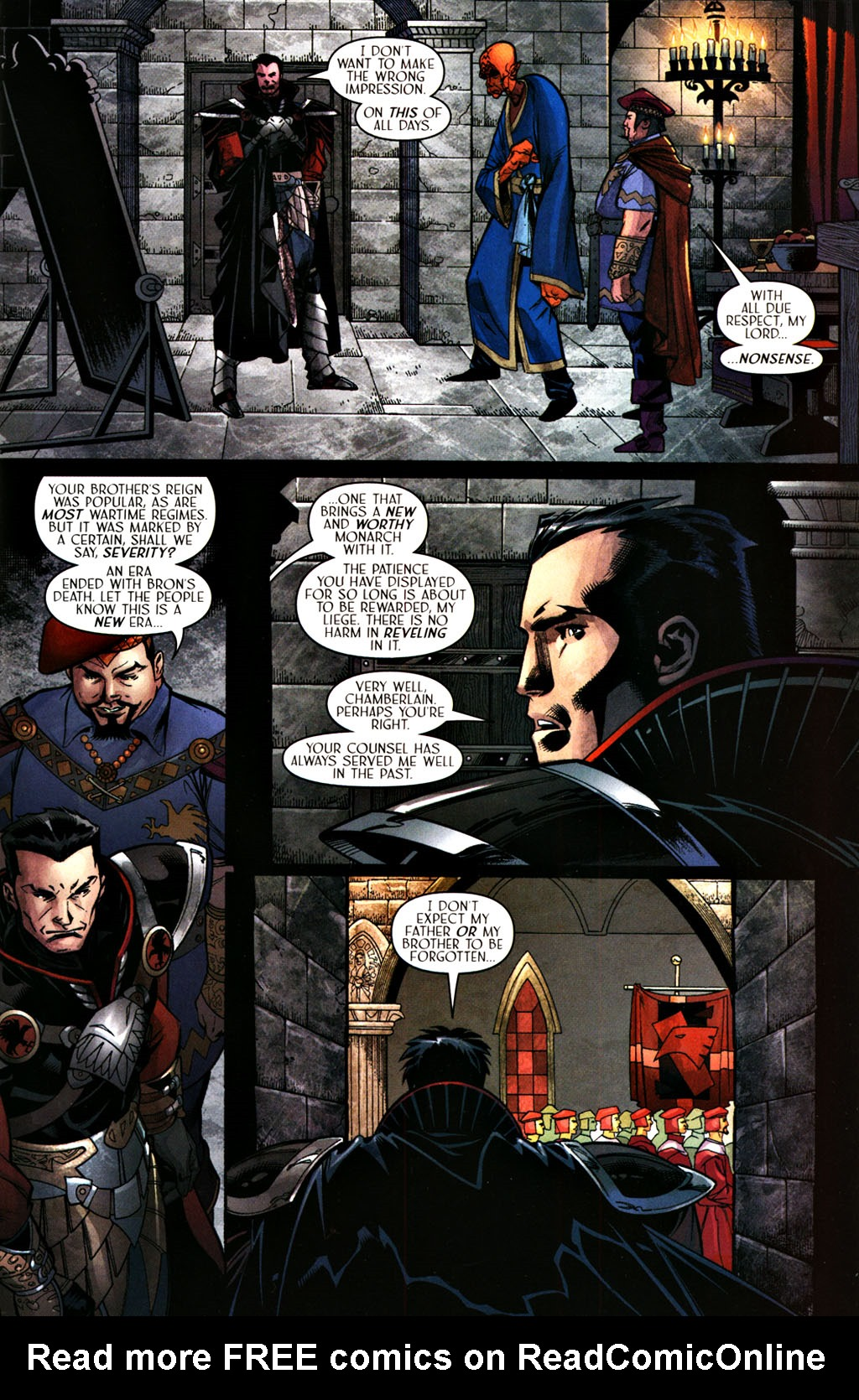 Read online Scion comic -  Issue #28 - 5