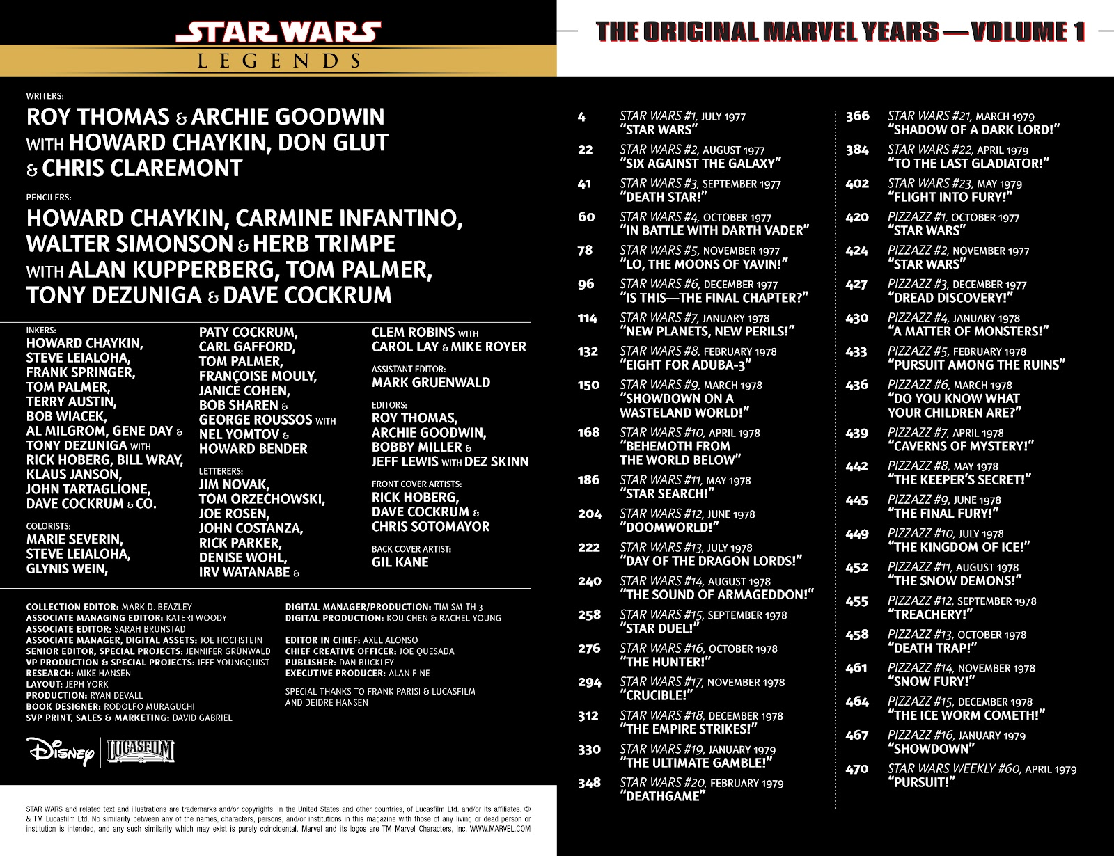 Read online Star Wars Legends: The Original Marvel Years - Epic Collection comic -  Issue # TPB 1 (Part 1) - 3