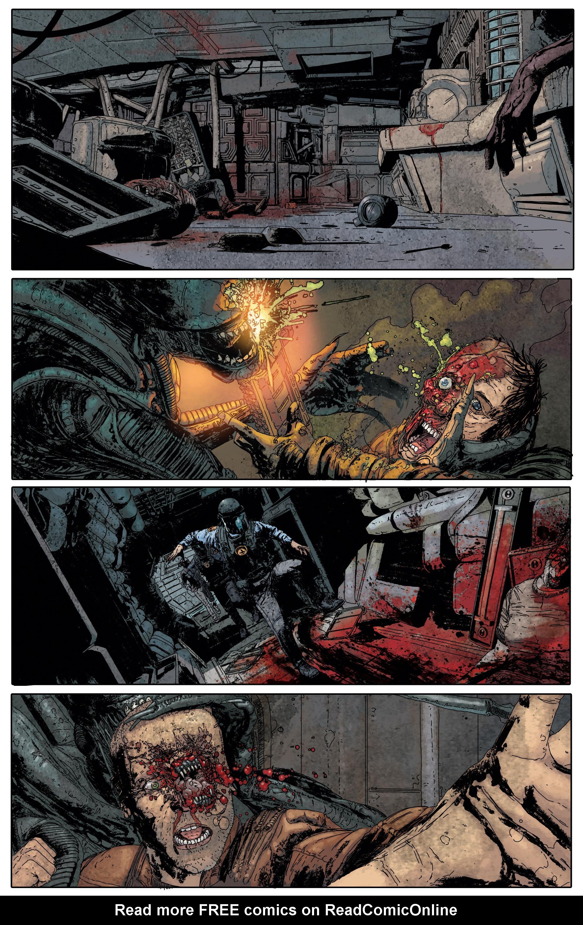 Read online Aliens: Defiance comic -  Issue #5 - 15