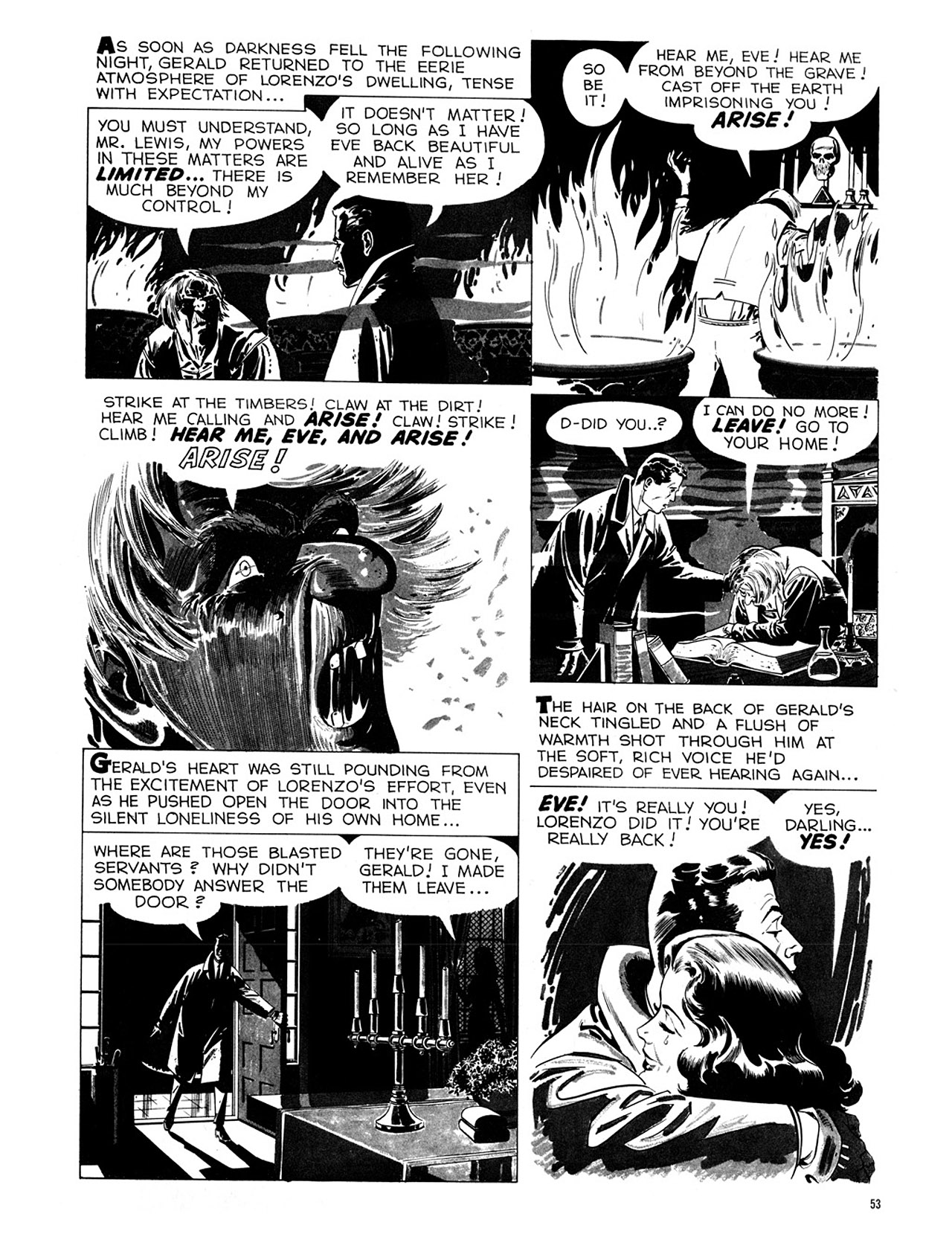 Read online Eerie Archives comic -  Issue # TPB 1 - 54
