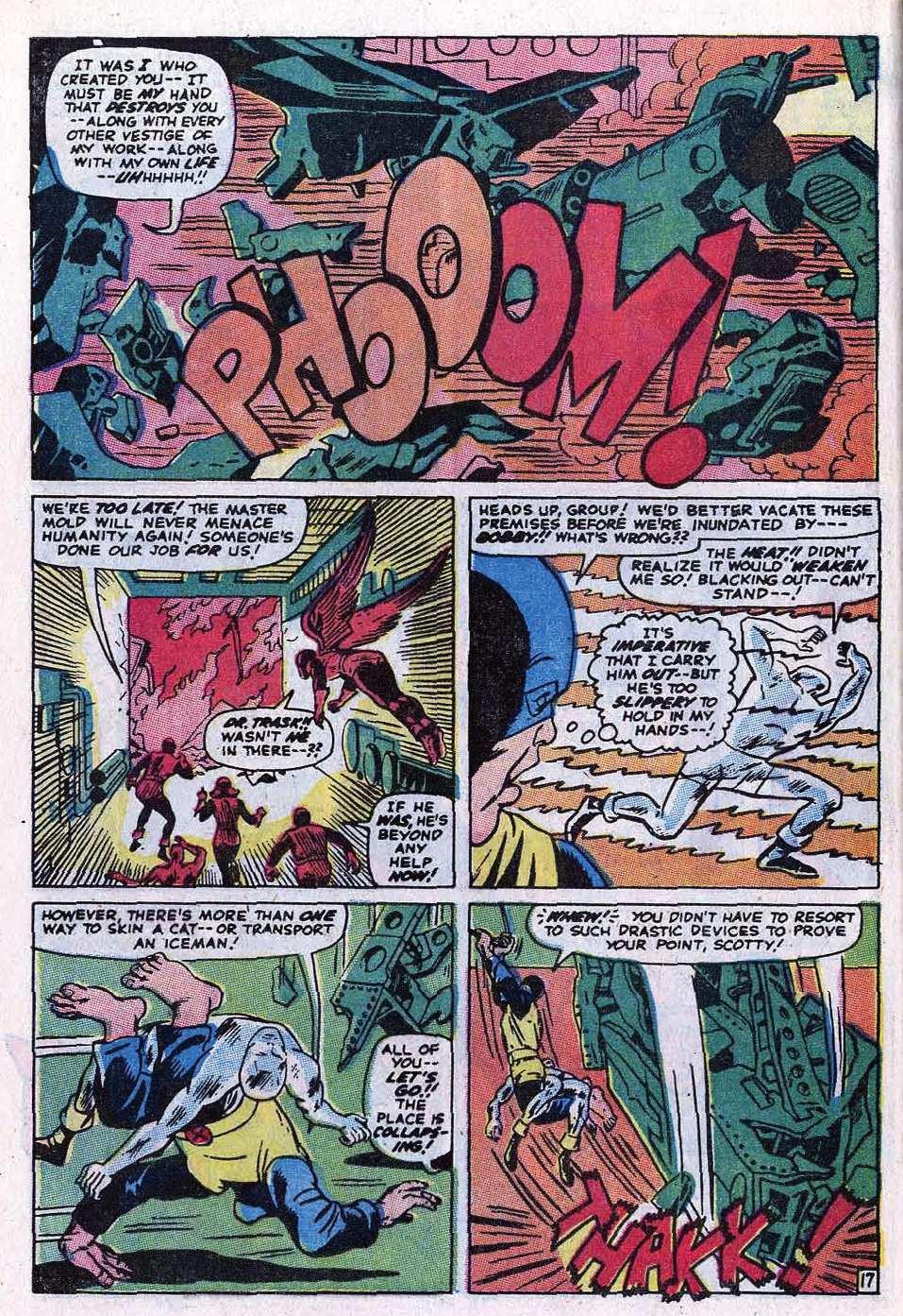 Read online Uncanny X-Men (1963) comic -  Issue #69 - 22