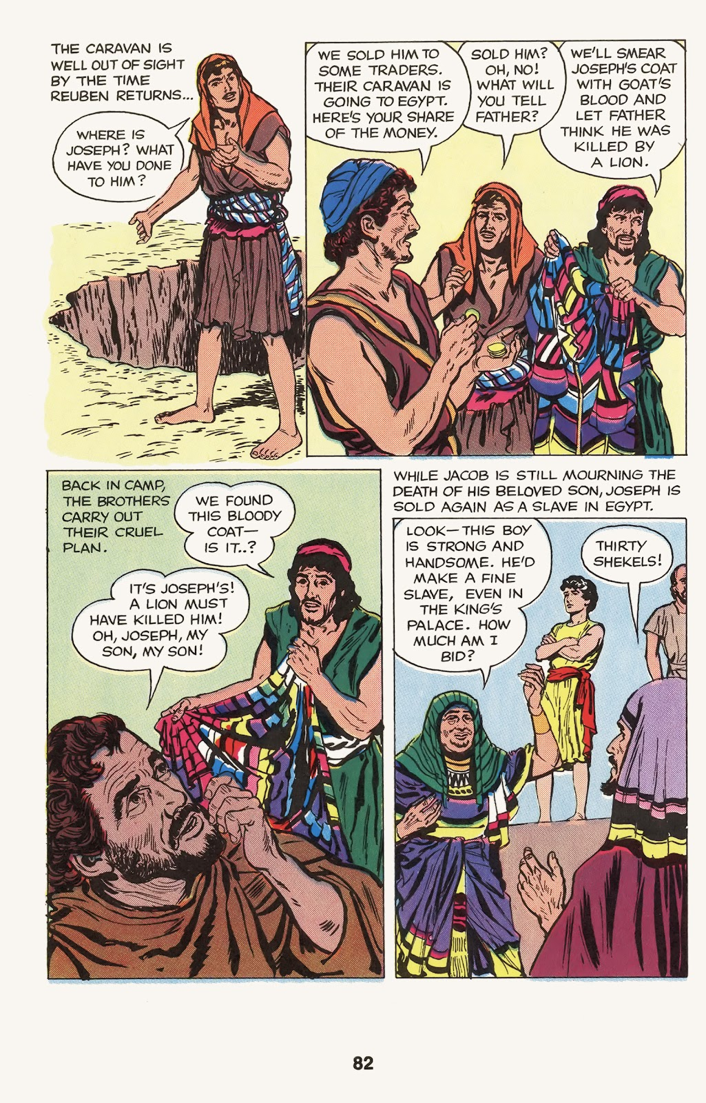 The Picture Bible issue TPB (Part 1) - Page 84
