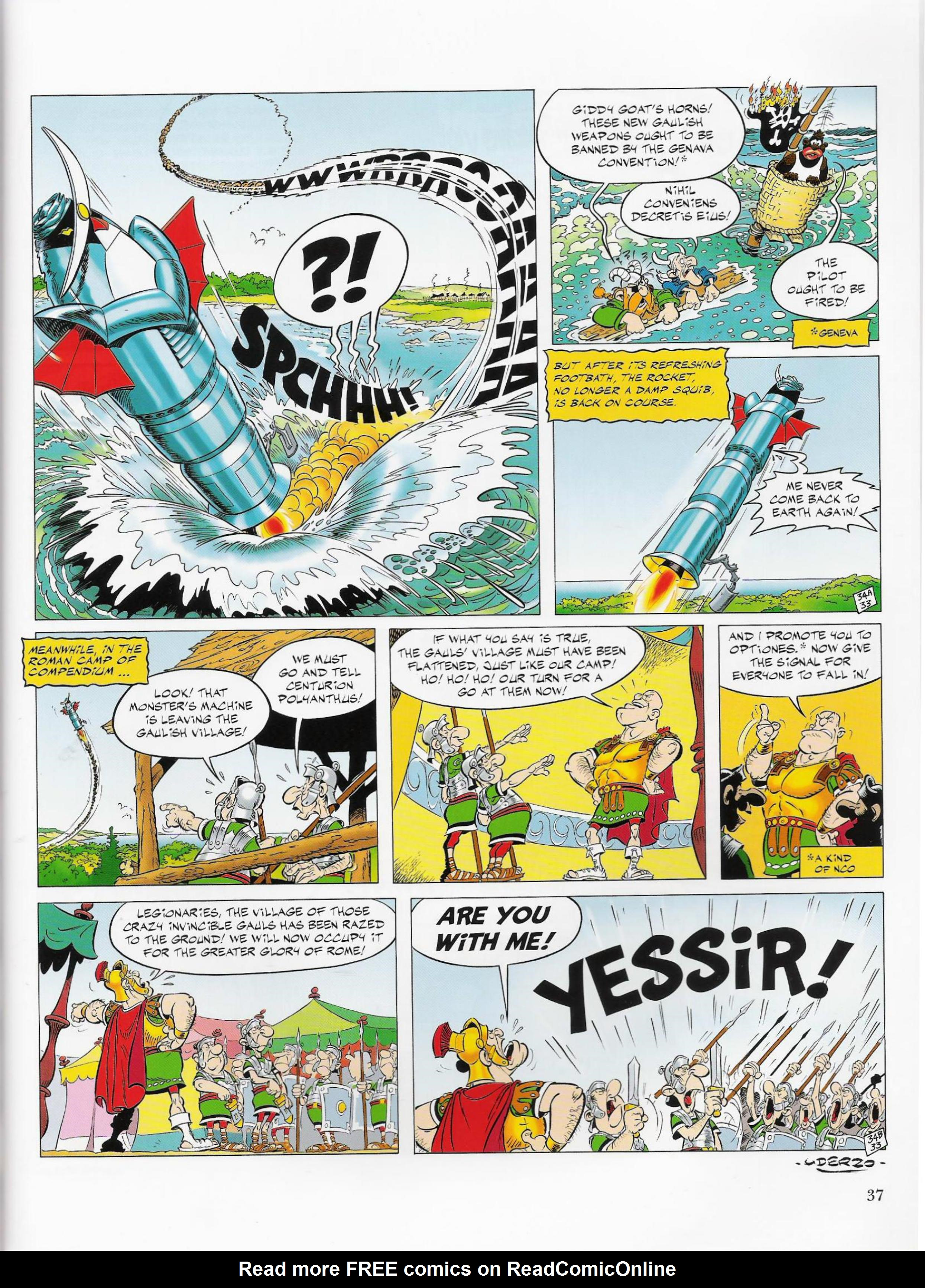 Read online Asterix comic -  Issue #33 - 37