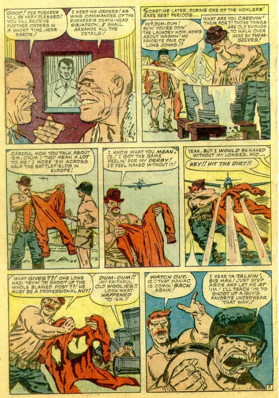 Read online Sgt. Fury comic -  Issue # _Annual 1 - 54