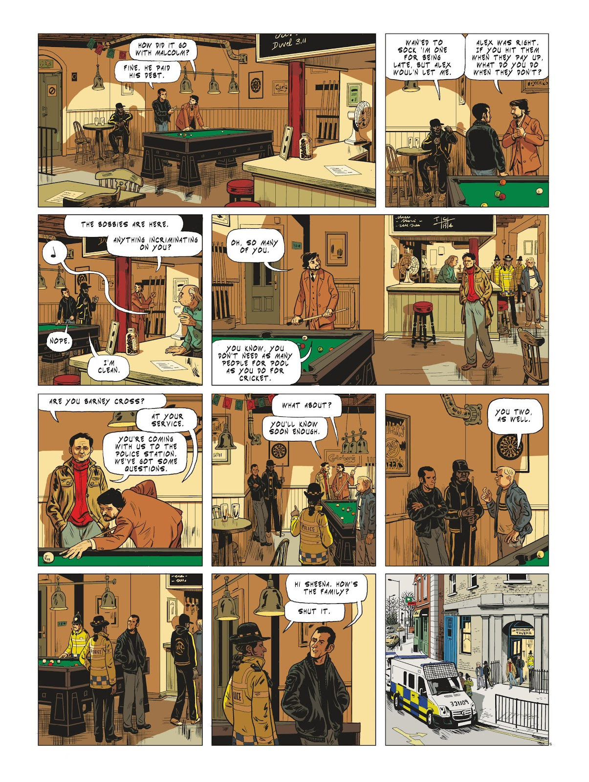 Read online Maggy Garrisson comic -  Issue #3 - 10
