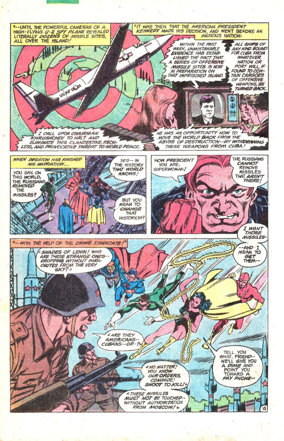 Read online All-Star Squadron comic -  Issue #14 - 19
