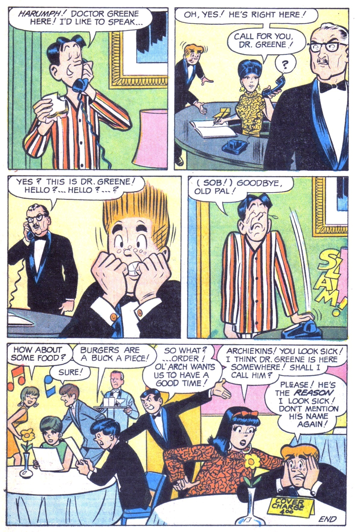 Read online Archie (1960) comic -  Issue #181 - 33