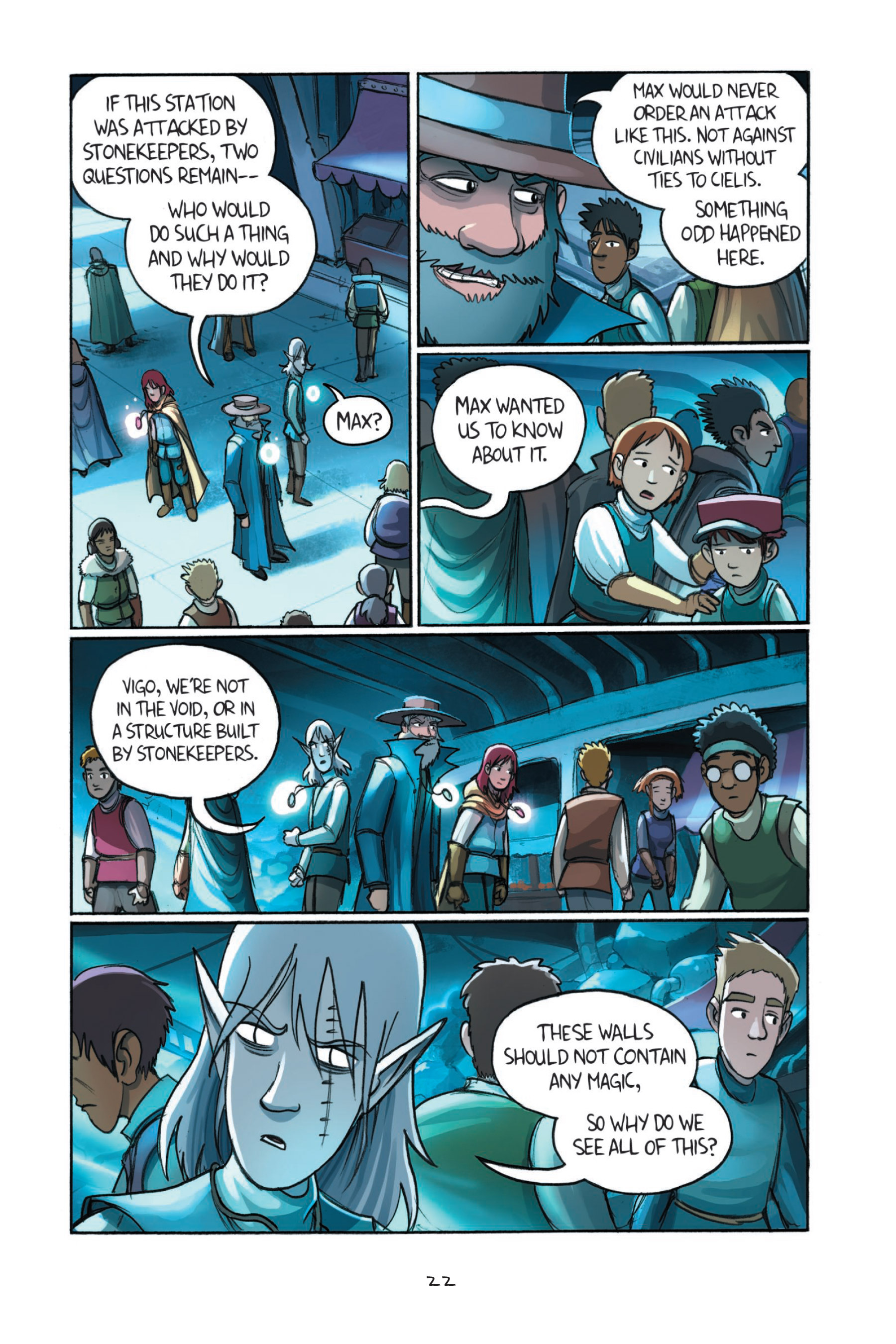 Read online Amulet comic -  Issue #7 - 25
