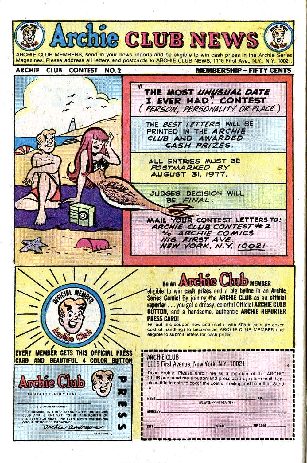 Read online Archie (1960) comic -  Issue #265 - 26
