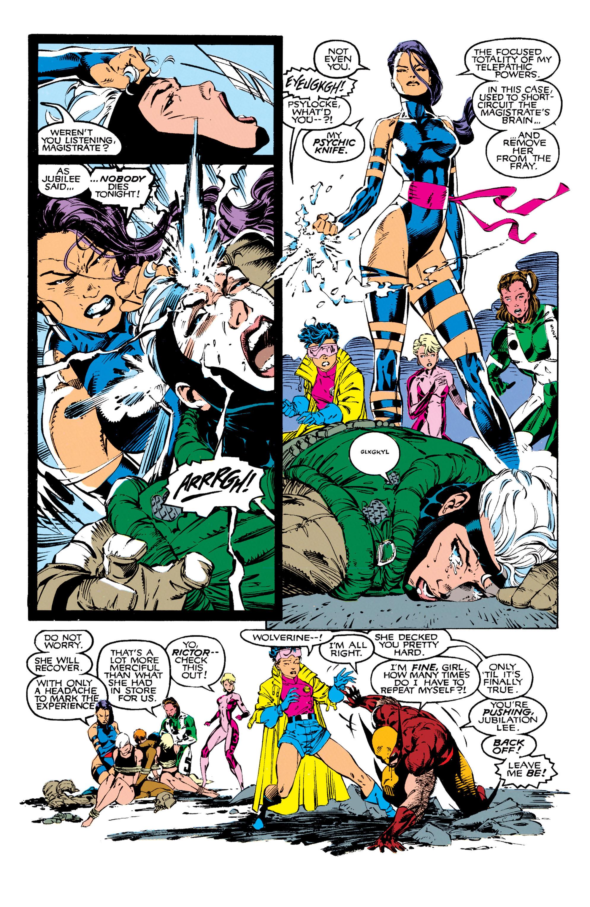 Read online Uncanny X-Men (1963) comic -  Issue #271 - 7