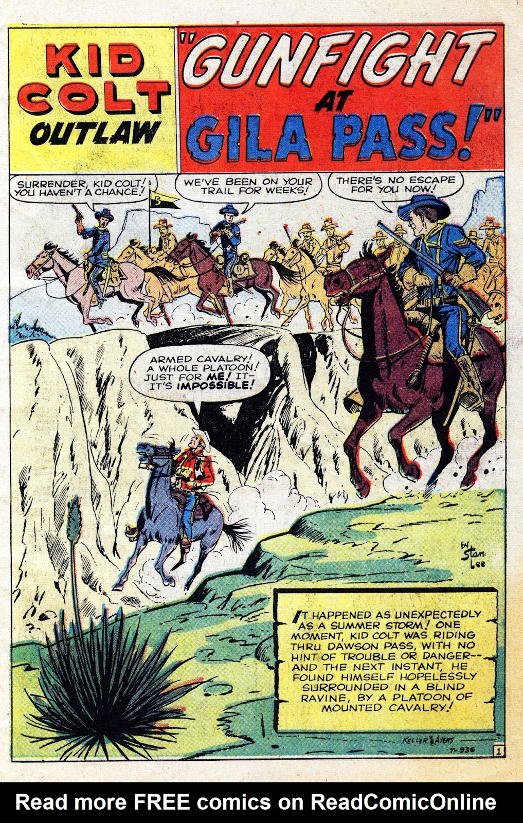 Gunsmoke Western issue 61 - Page 3