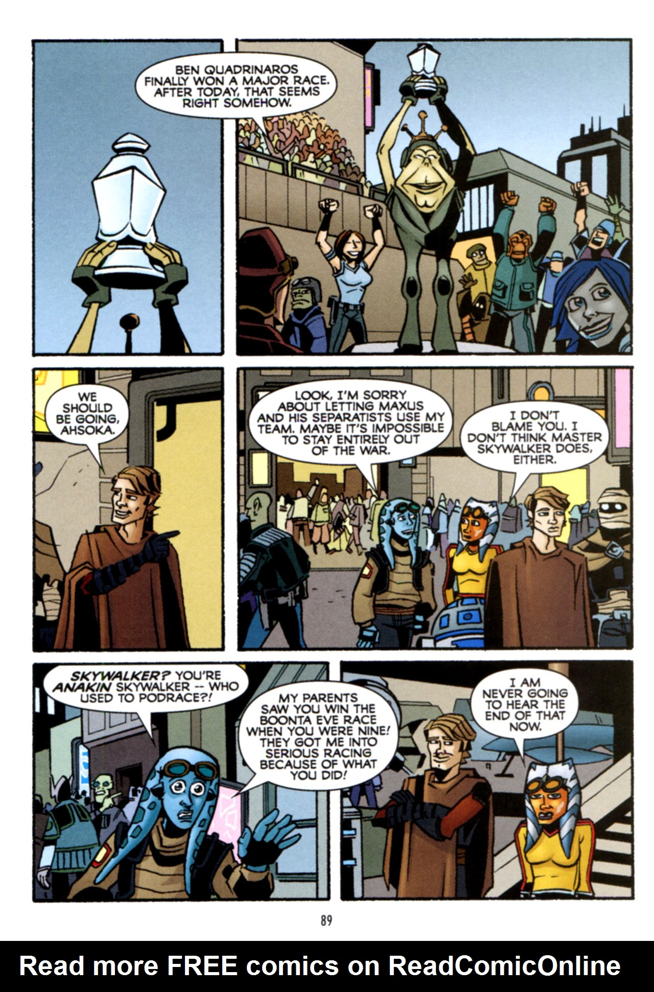 Read online Star Wars: The Clone Wars - Crash Course comic -  Issue # Full - 90