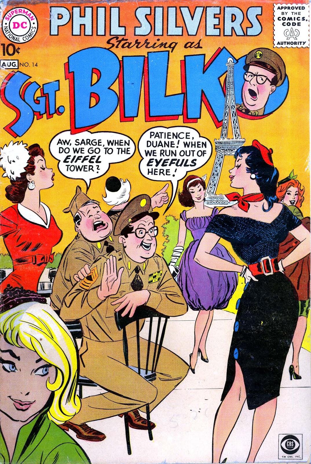 Sergeant Bilko issue 14 - Page 1