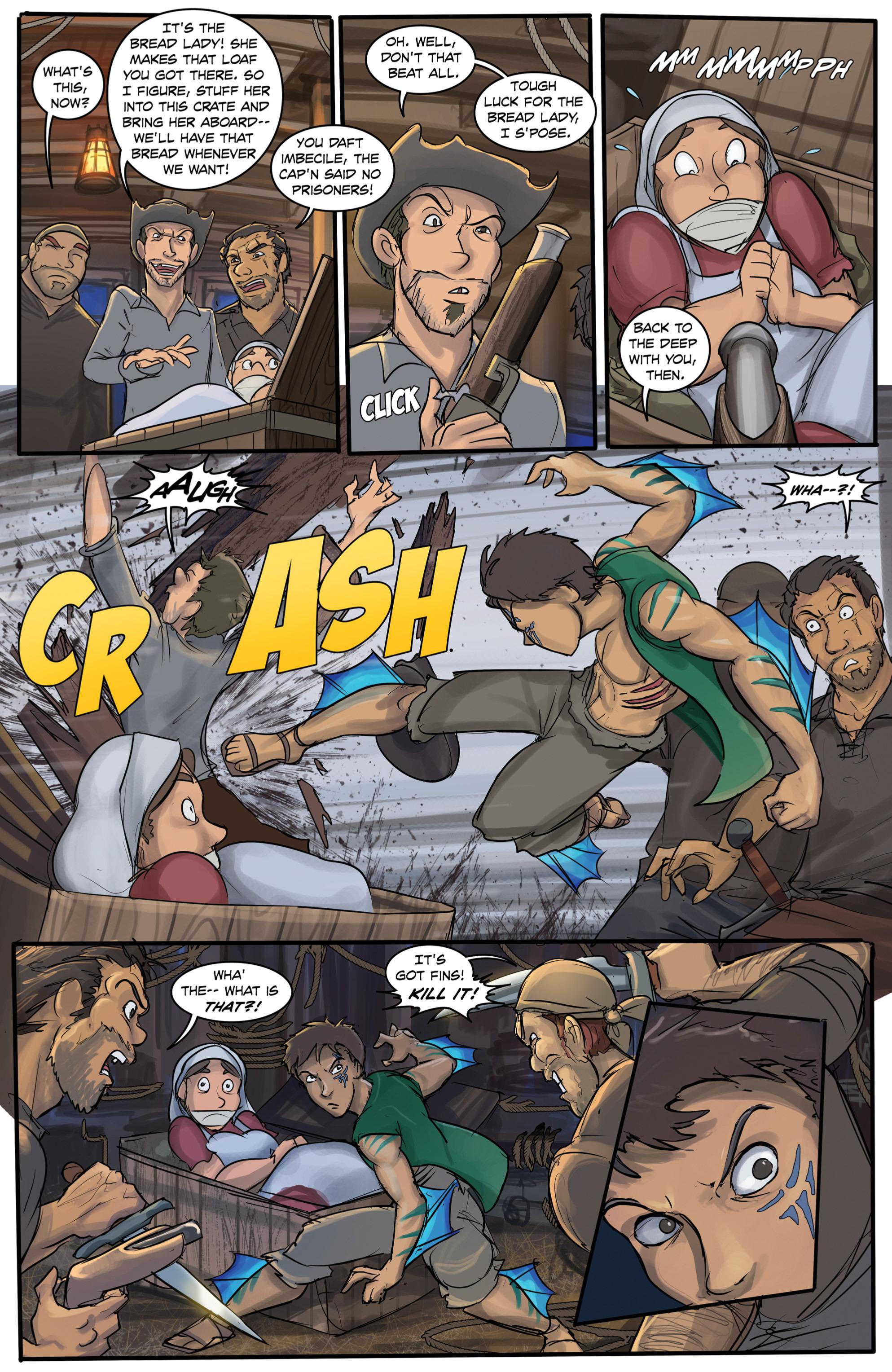 Read online Anne Bonnie comic -  Issue #6 - 7