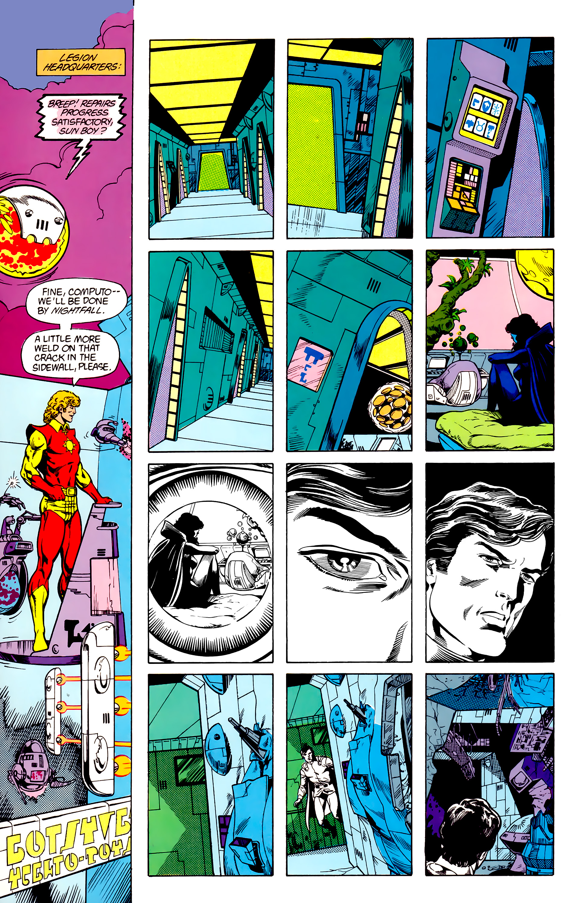 Legion of Super-Heroes (1984) 23 Page 9