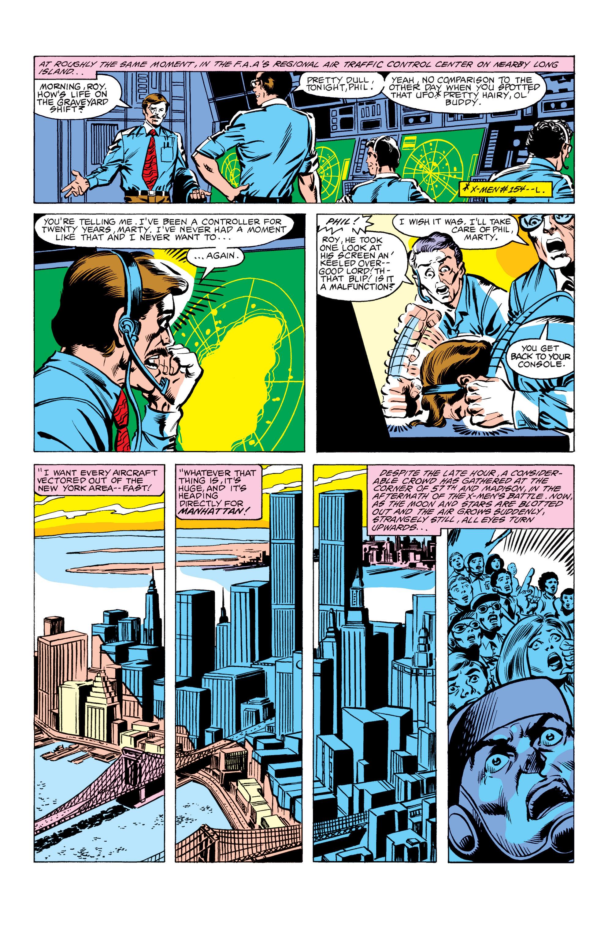 Read online Uncanny X-Men (1963) comic -  Issue #156 - 4