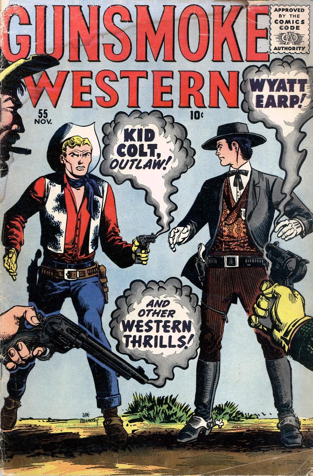 Gunsmoke Western 55 Page 1