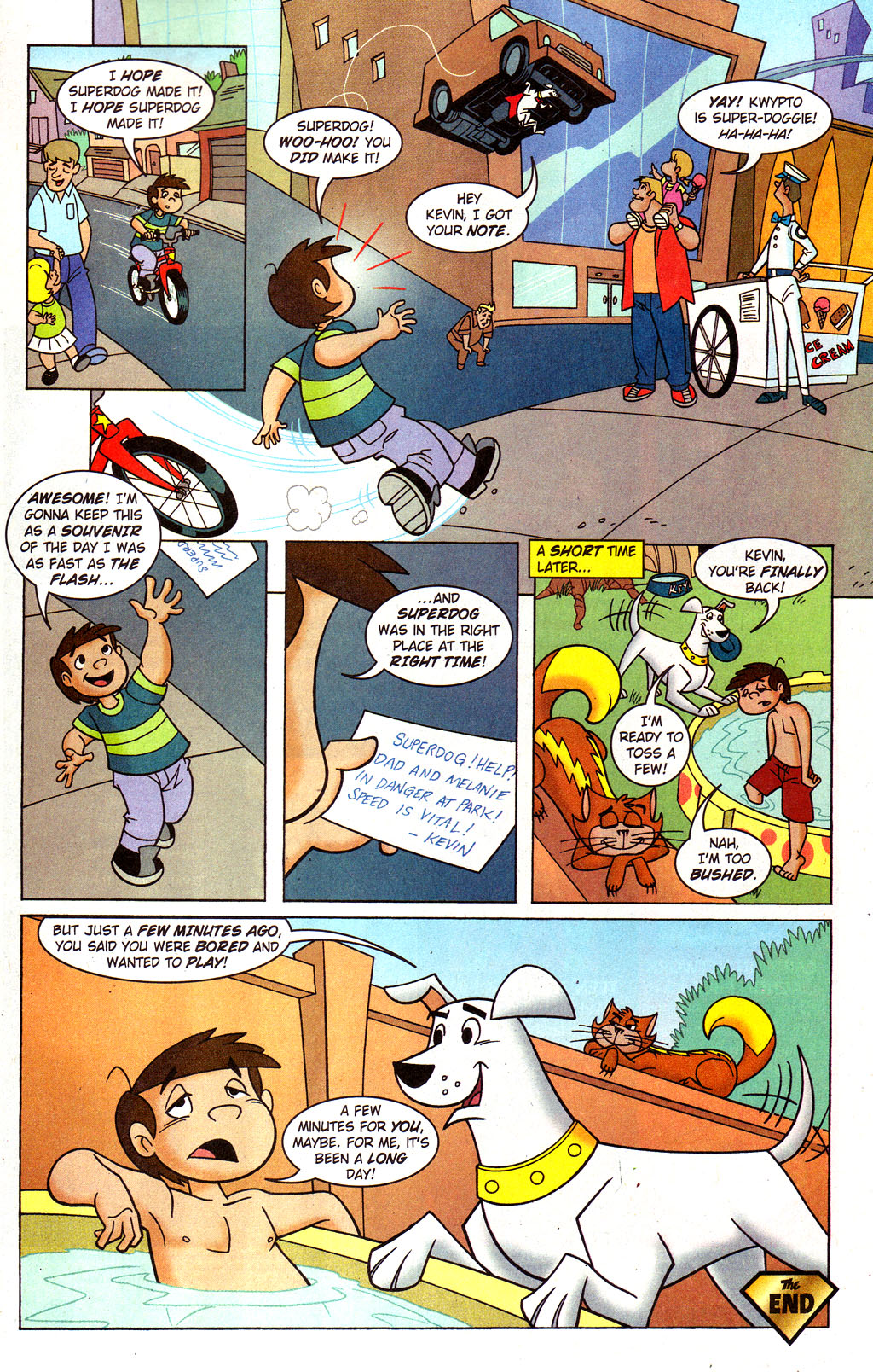 Read online Krypto the Superdog comic -  Issue #4 - 21