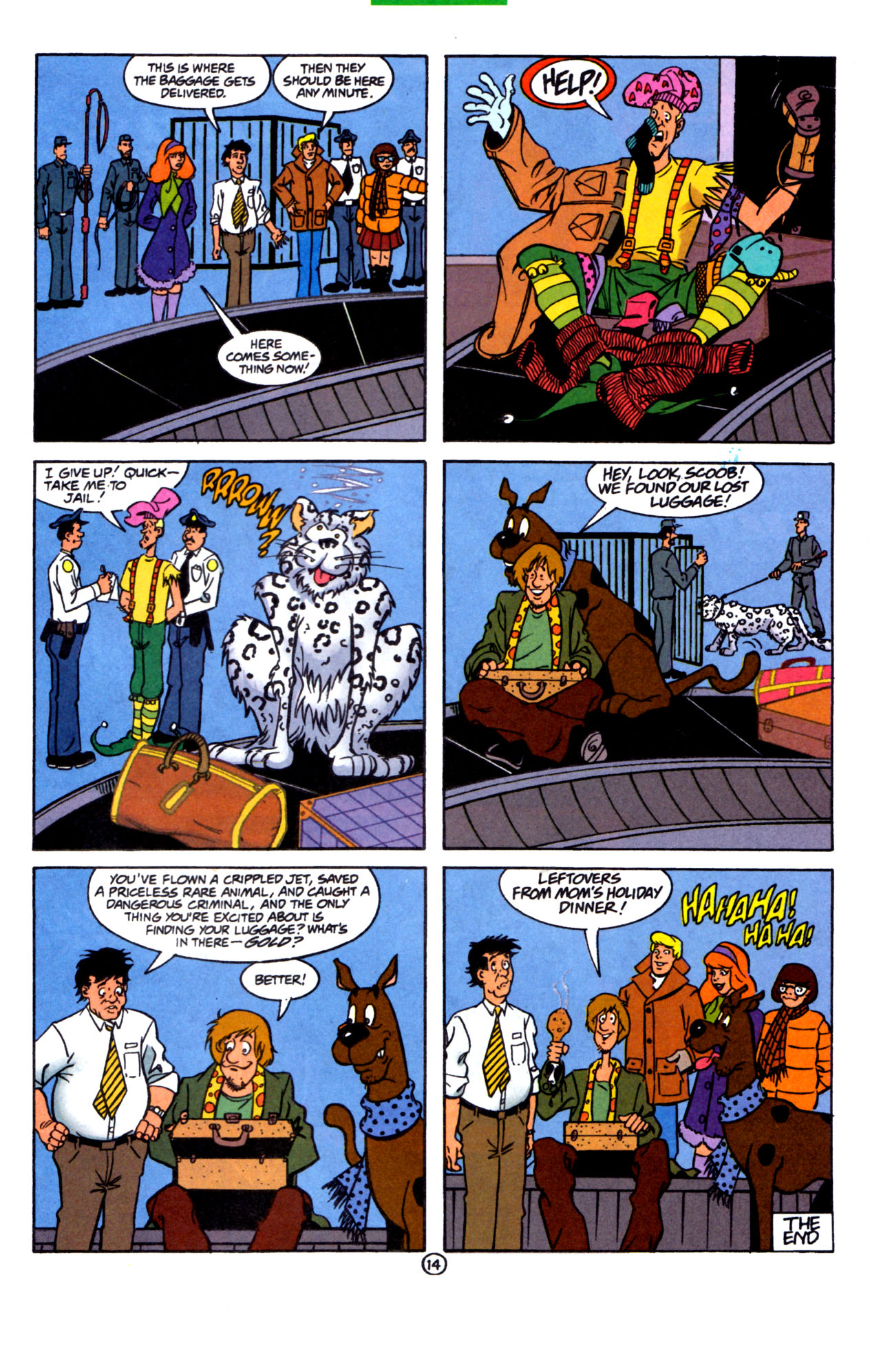 Read online Scooby-Doo (1997) comic -  Issue #7 - 15