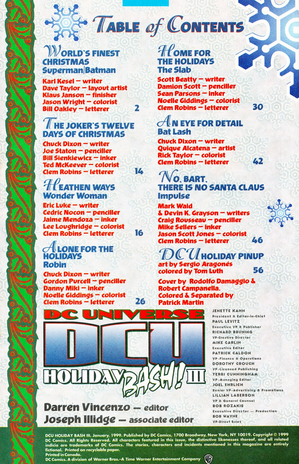 DC Universe Holiday Bash 3 Page 2