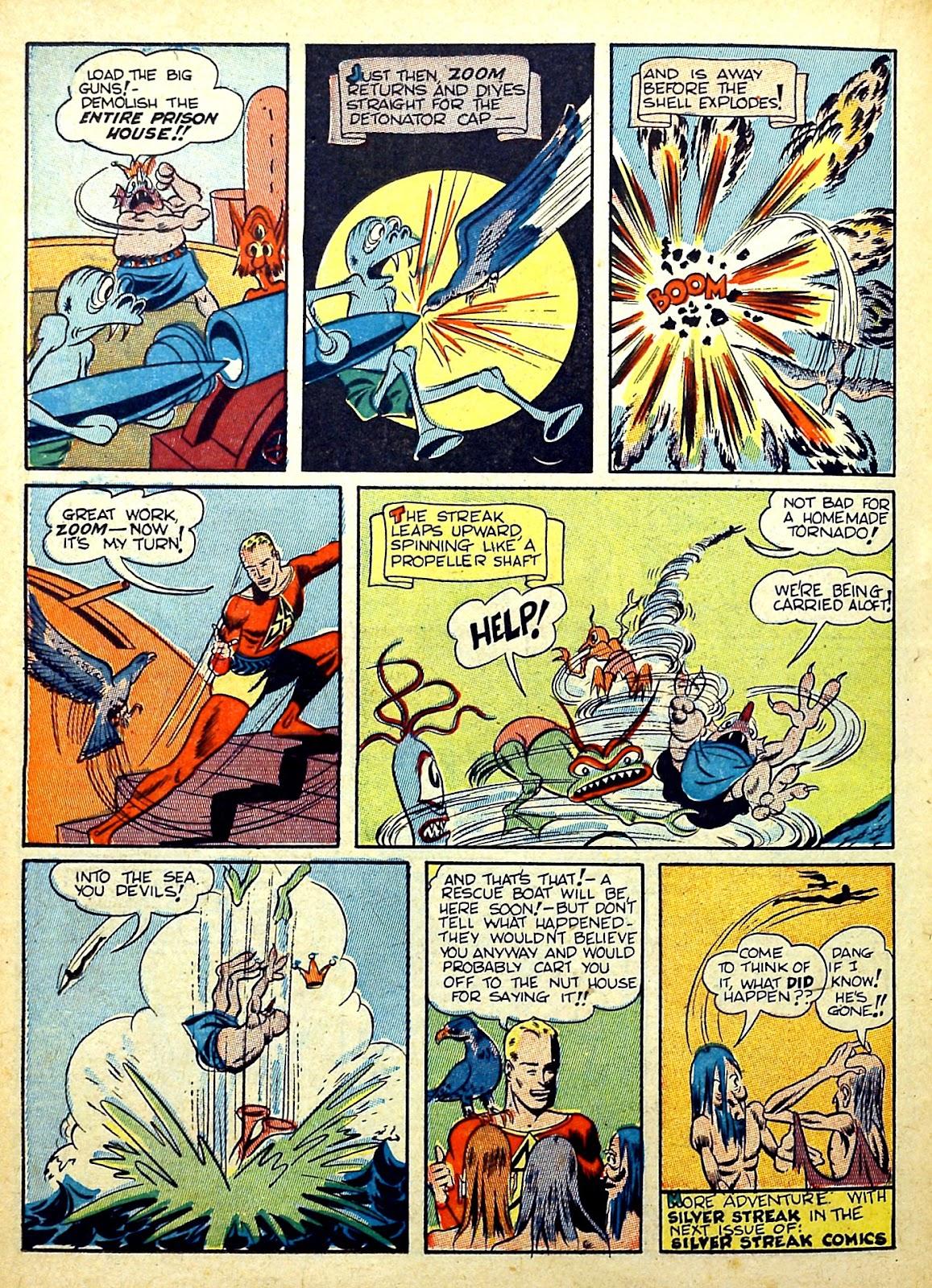 Read online Silver Streak Comics comic -  Issue #22 - 40