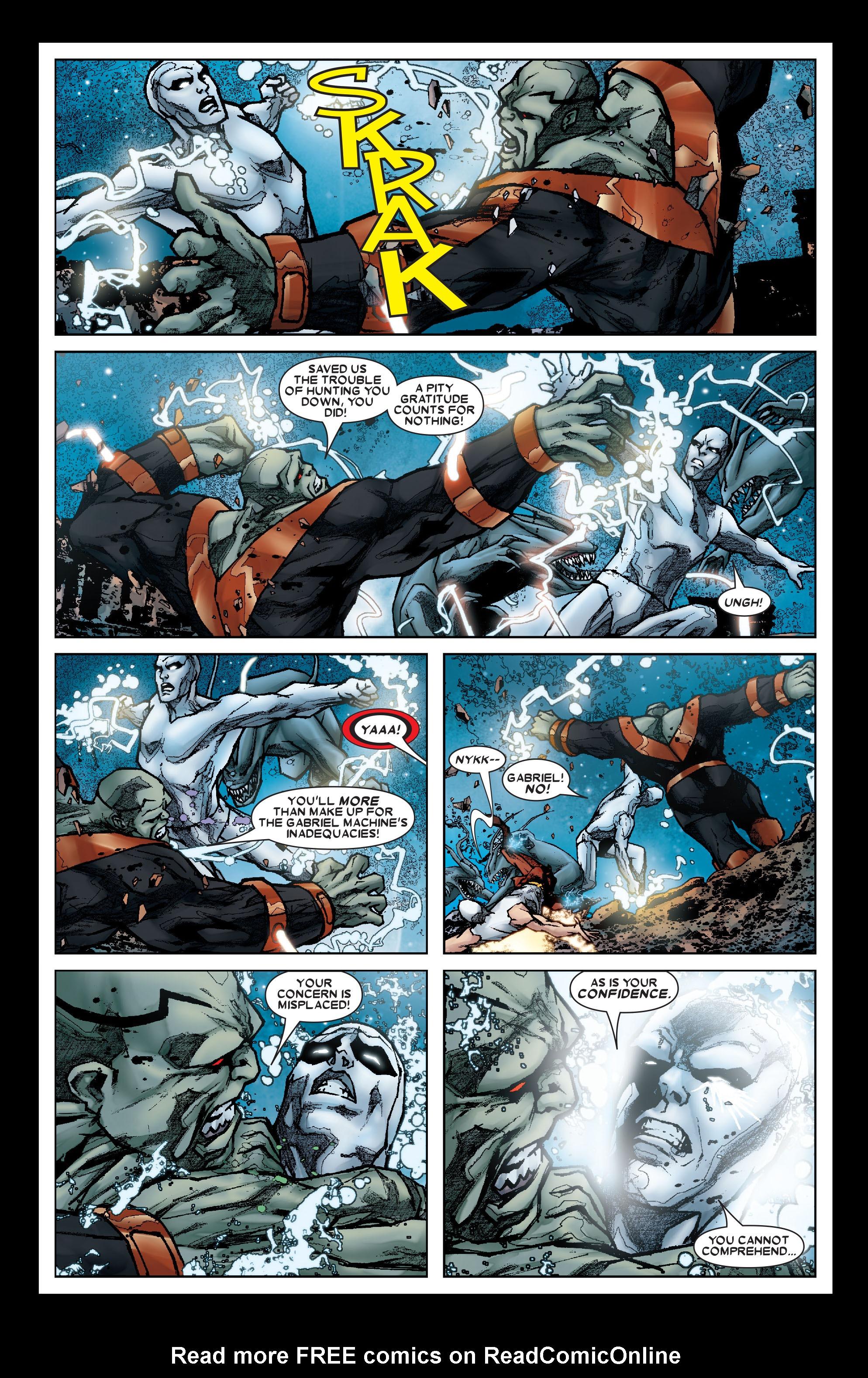 Read online Annihilation: Silver Surfer comic -  Issue #1 - 11