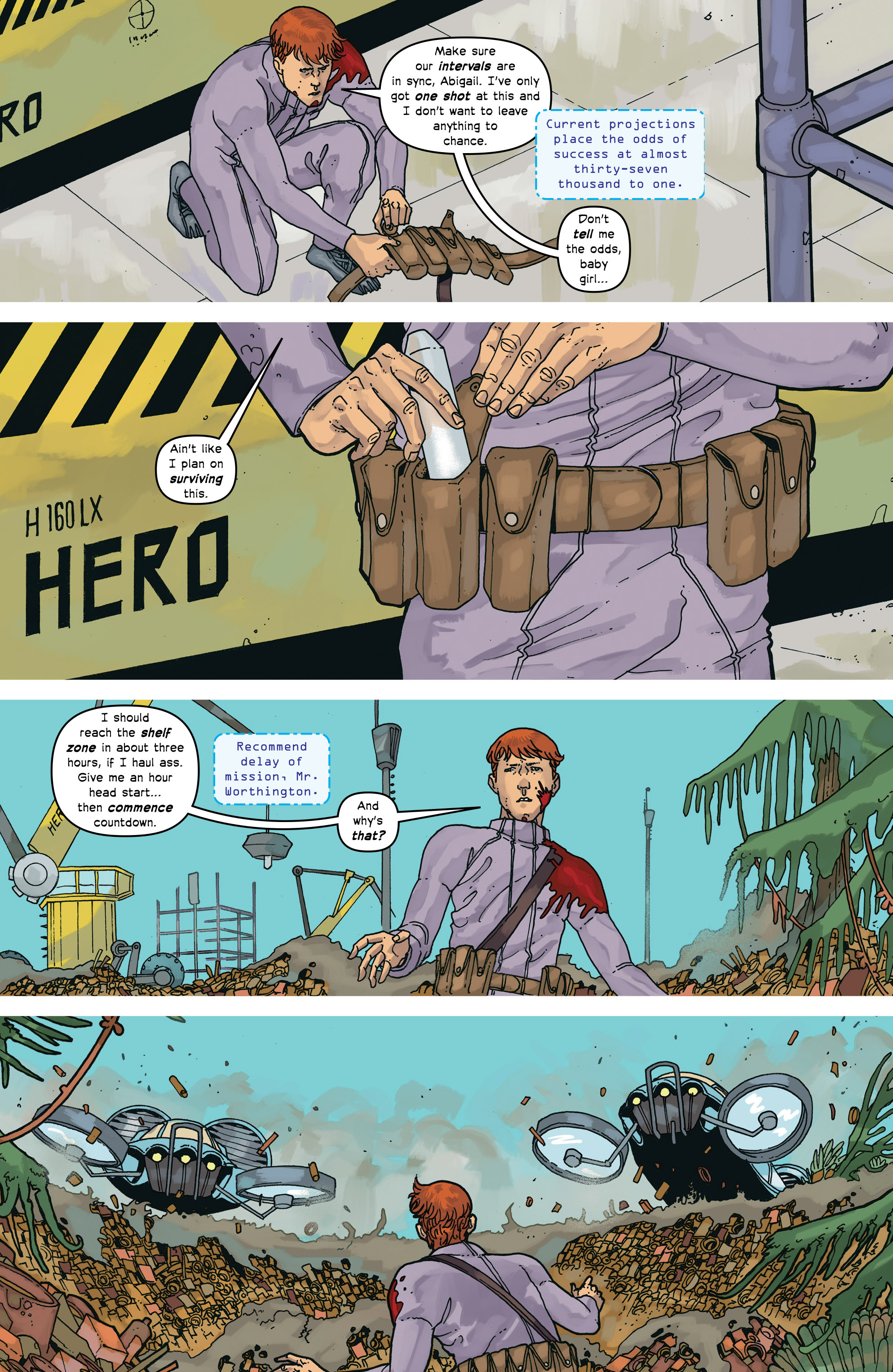 Read online Great Pacific comic -  Issue #17 - 18