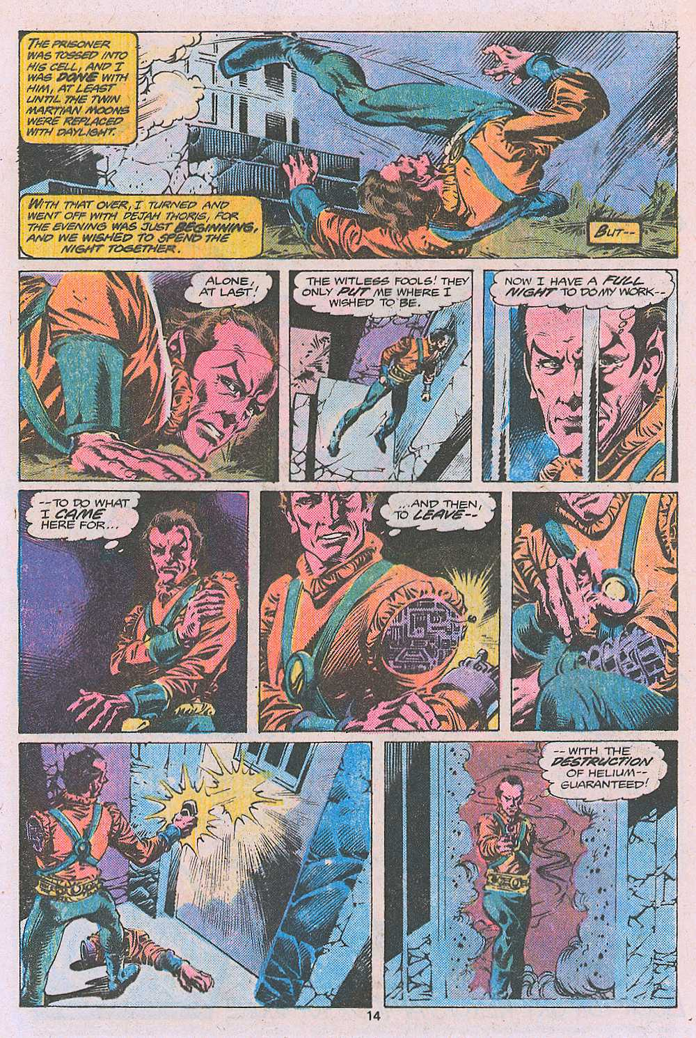 John Carter Warlord of Mars issue 2 - Page 16
