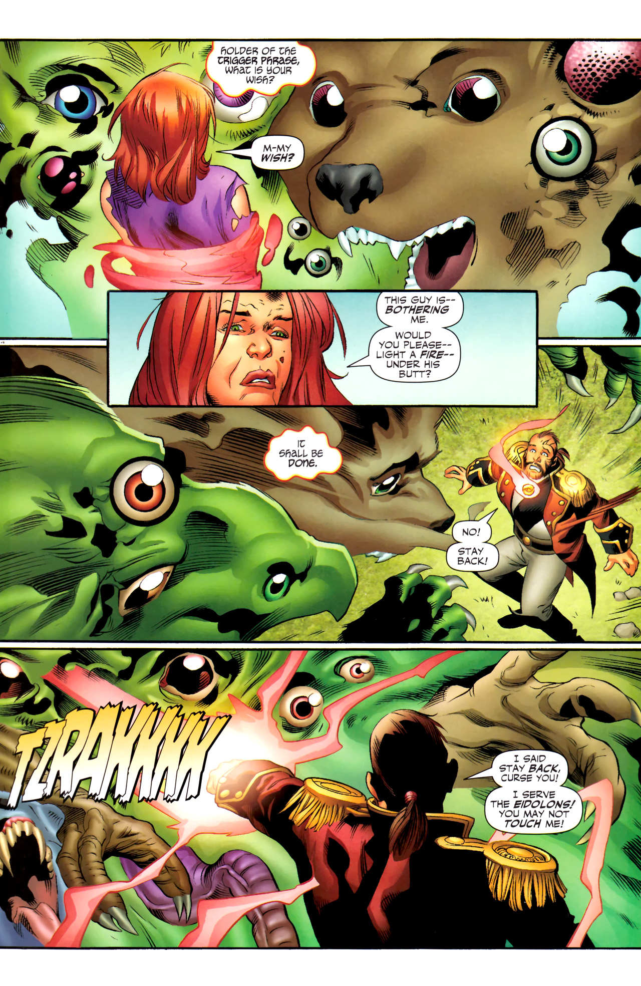 Read online Sigil (2011) comic -  Issue #4 - 15