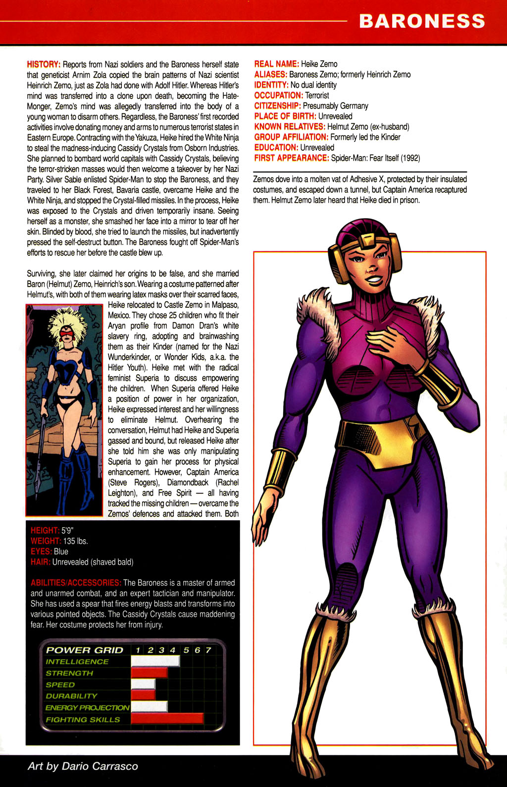 Read online All-New Official Handbook of the Marvel Universe A to Z comic -  Issue #1 - 65