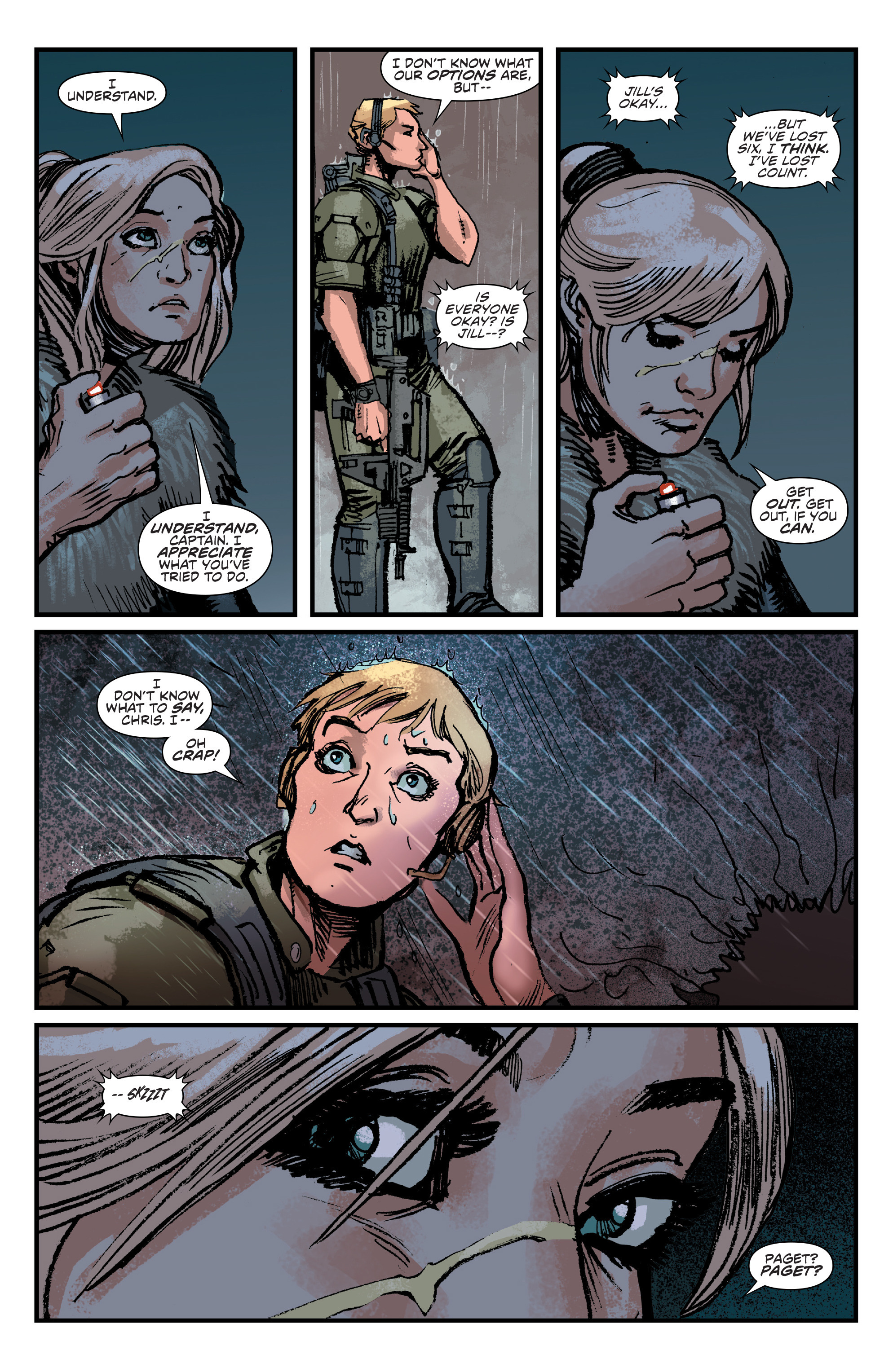 Read online Aliens: Life And Death comic -  Issue #4 - 12