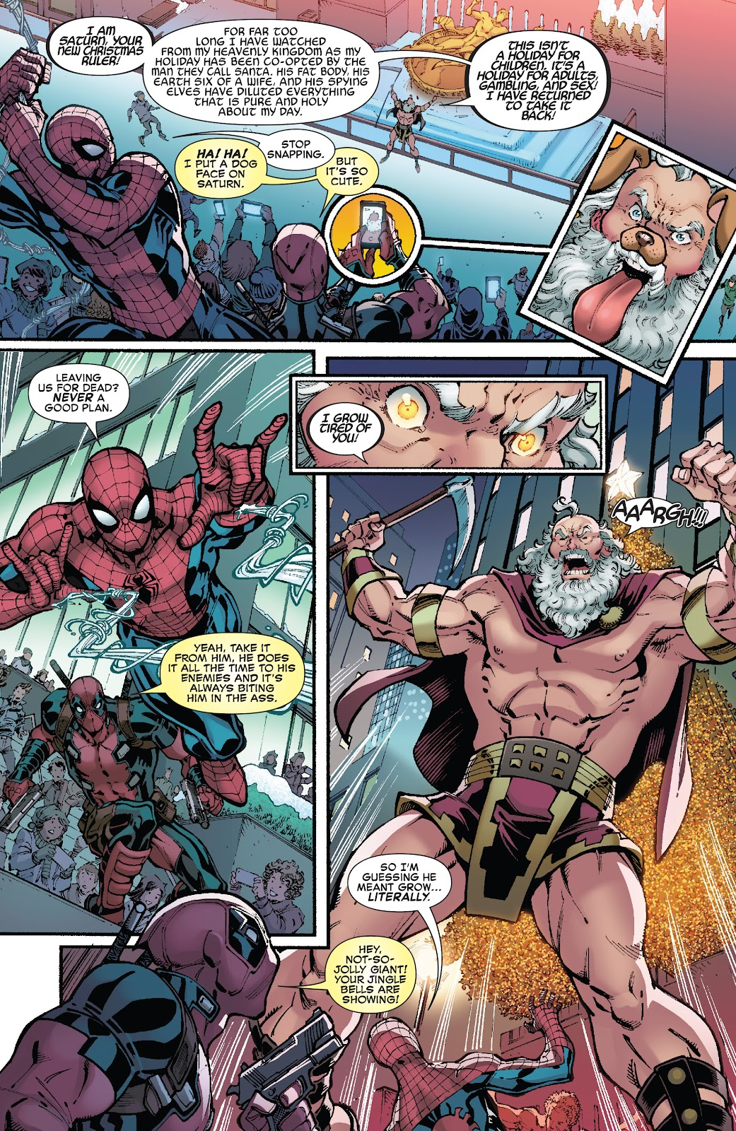 Spider-Man/Deadpool 12 Page 14 Spider-Man: 11 Most Wholesome Comic Moments