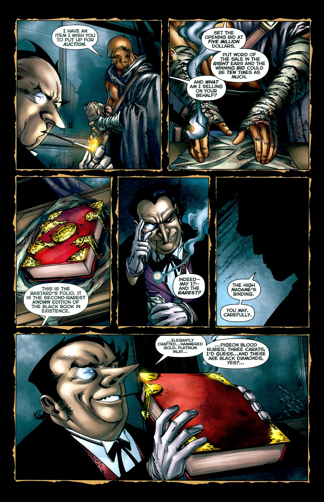 Crime Bible: The Five Lessons of Blood issue 3 - Page 4