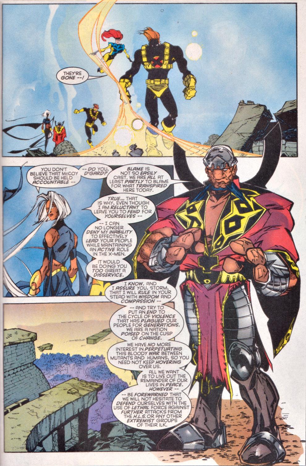 Read online Uncanny X-Men (1963) comic -  Issue # _Annual 1997 - 38