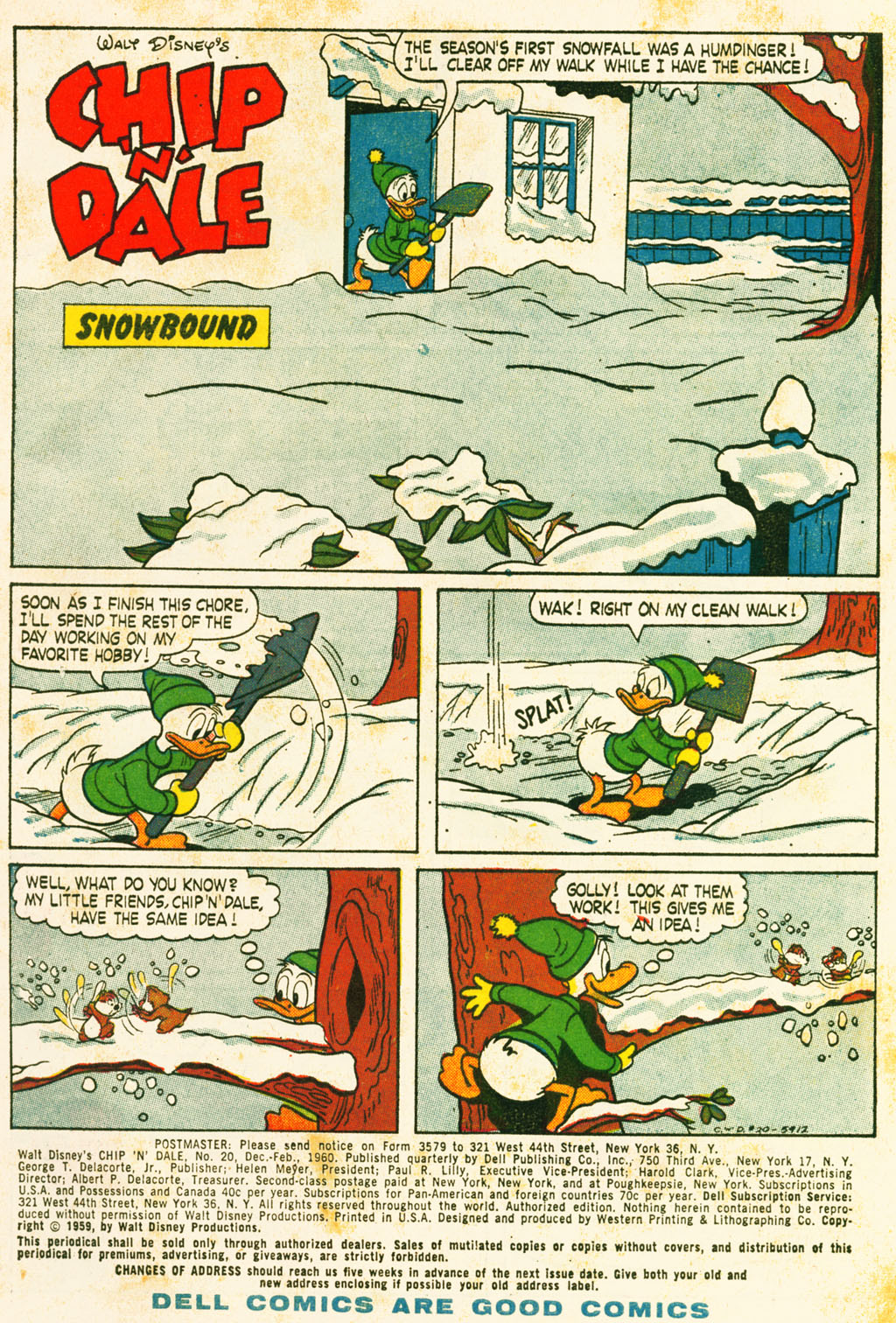 Walt Disneys Chip N Dale issue 20 - Page 3