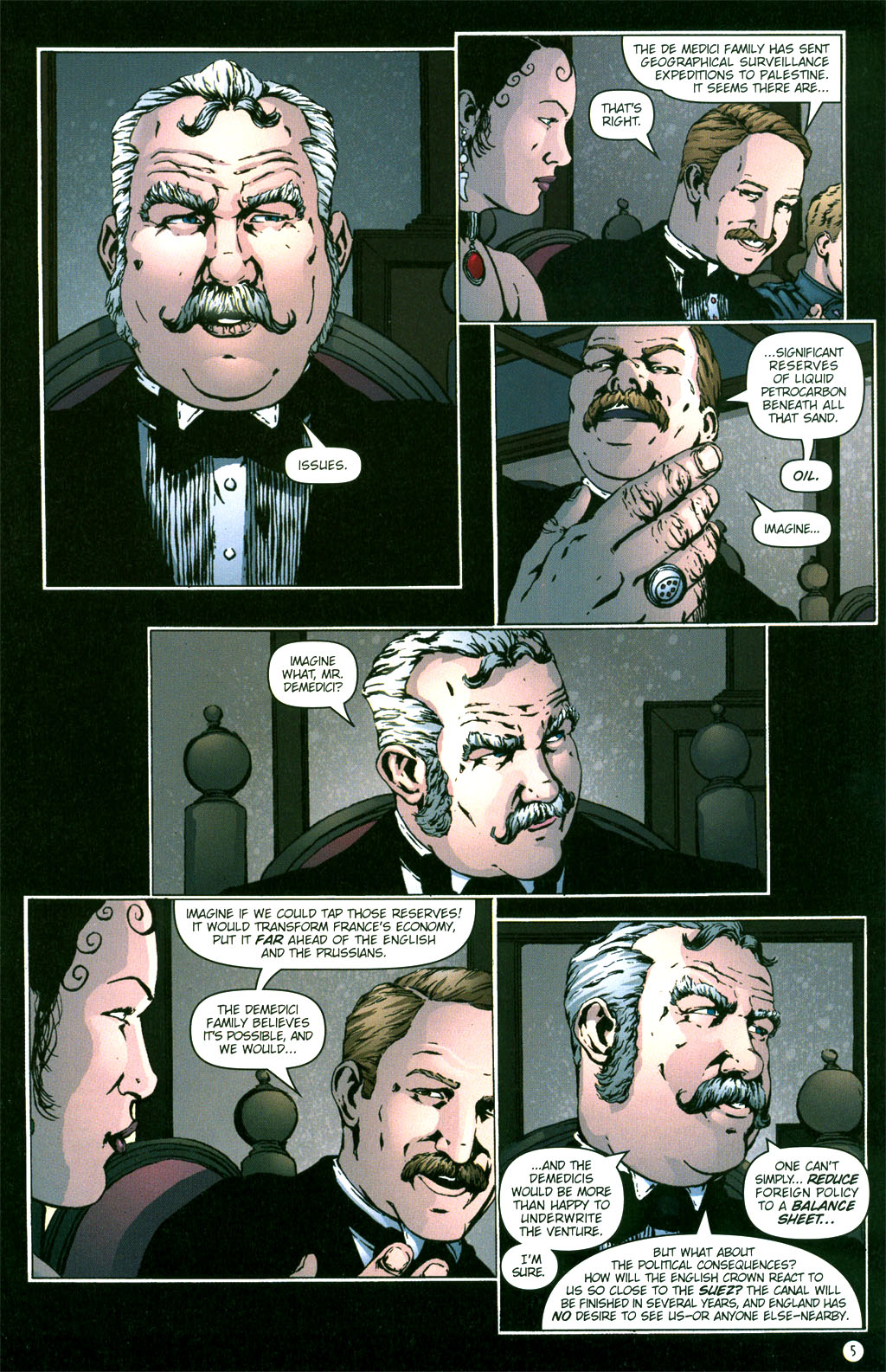 Read online Rex Mundi comic -  Issue #5 - 7