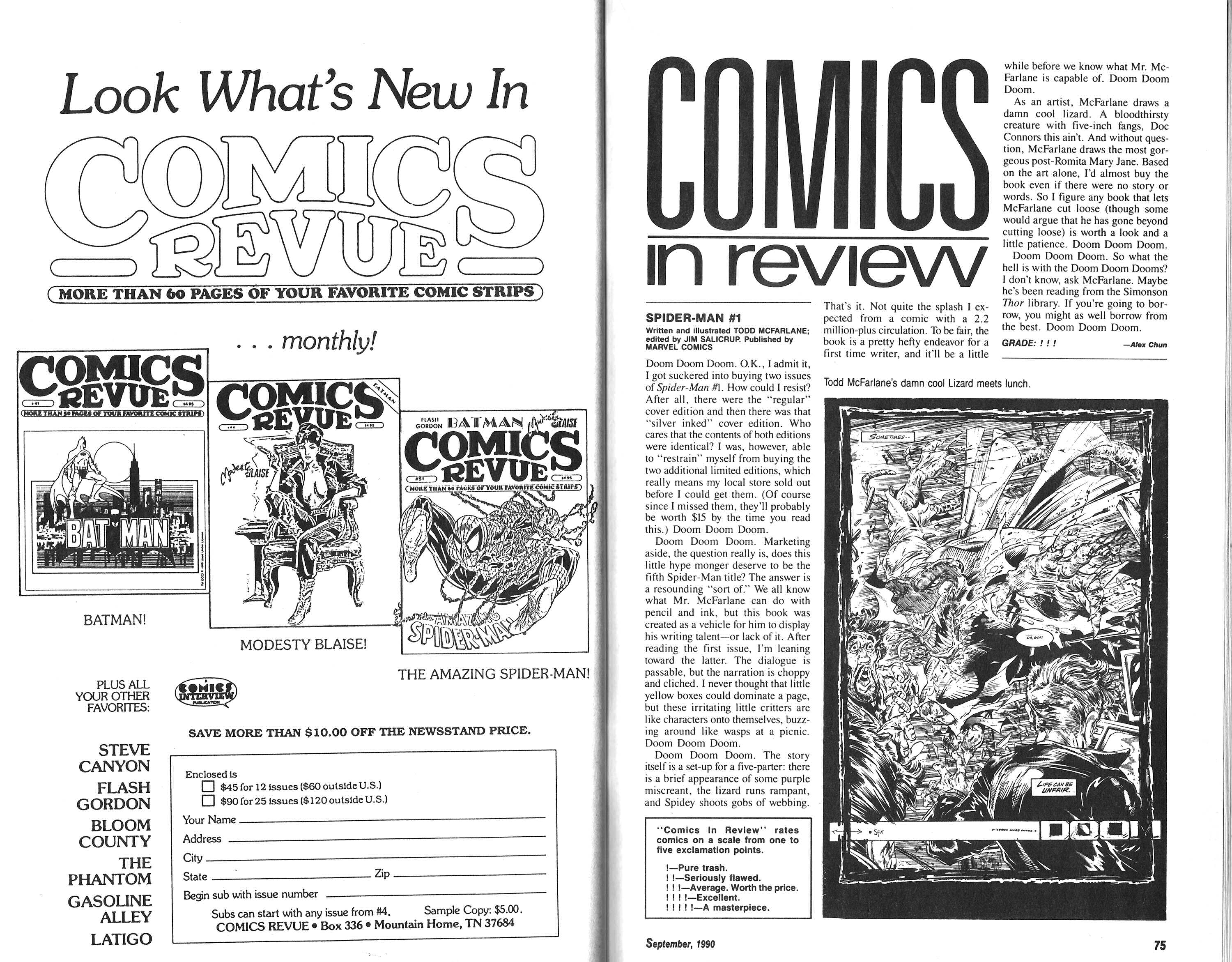 Read online Amazing Heroes comic -  Issue #183 - 38