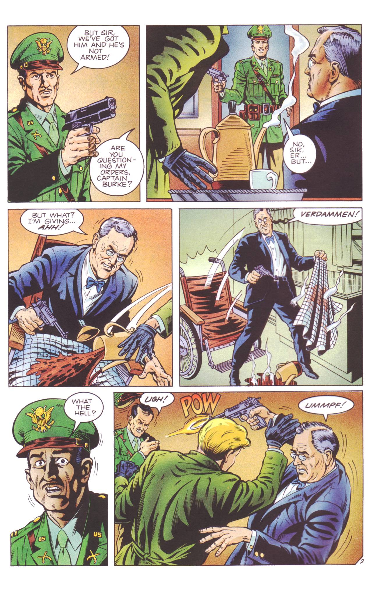 Read online Sting of The Green Hornet comic -  Issue #4 - 3