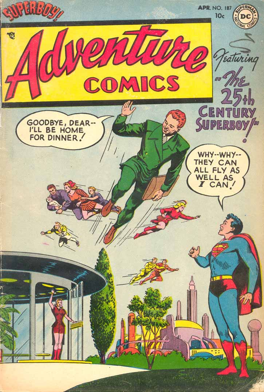 Read online Adventure Comics (1938) comic -  Issue #187 - 1