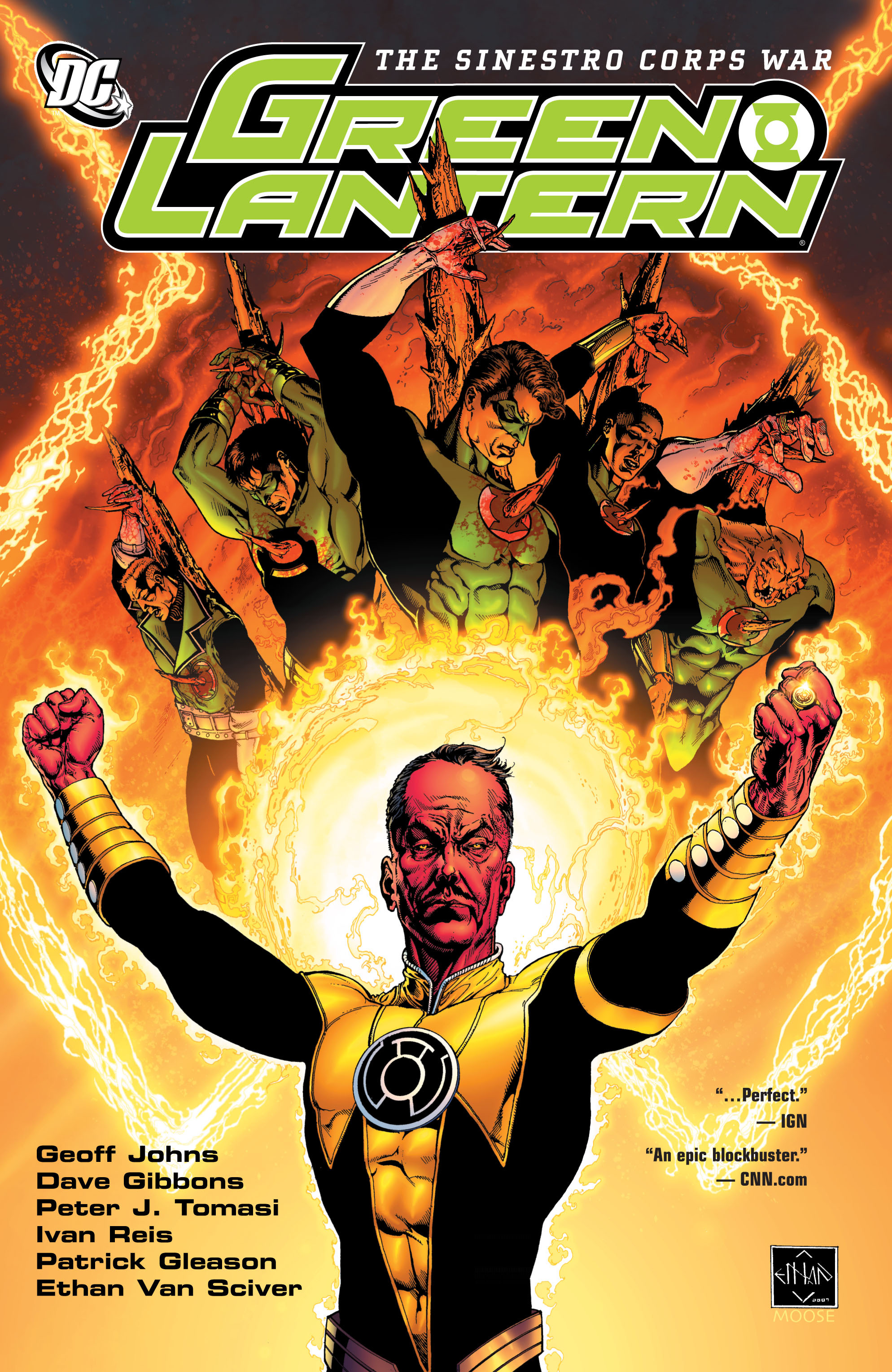 Green Lantern: The Sinestro Corps War Full Page 1