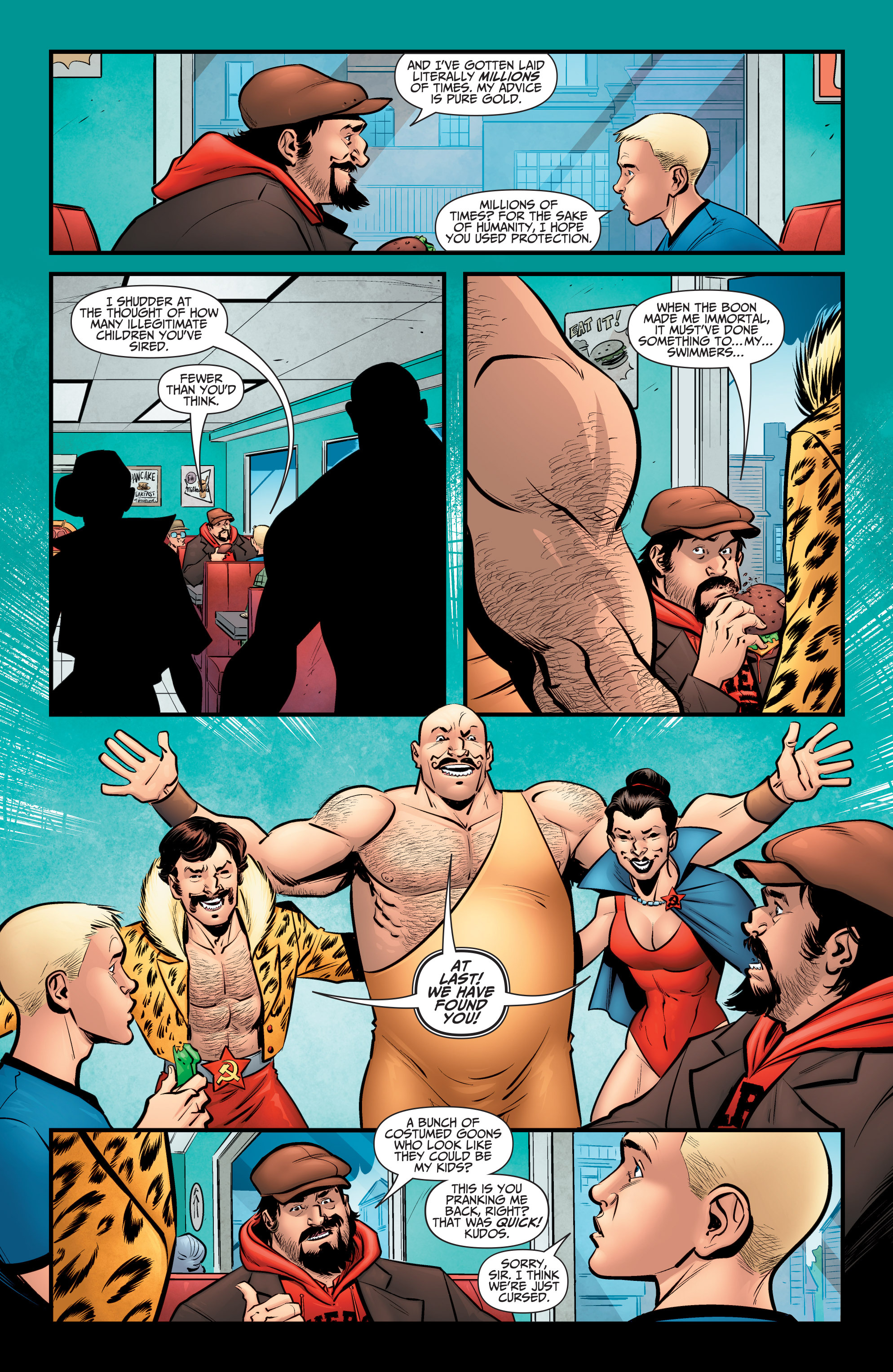Read online A&A: The Adventures of Archer & Armstrong comic -  Issue #6 - 9