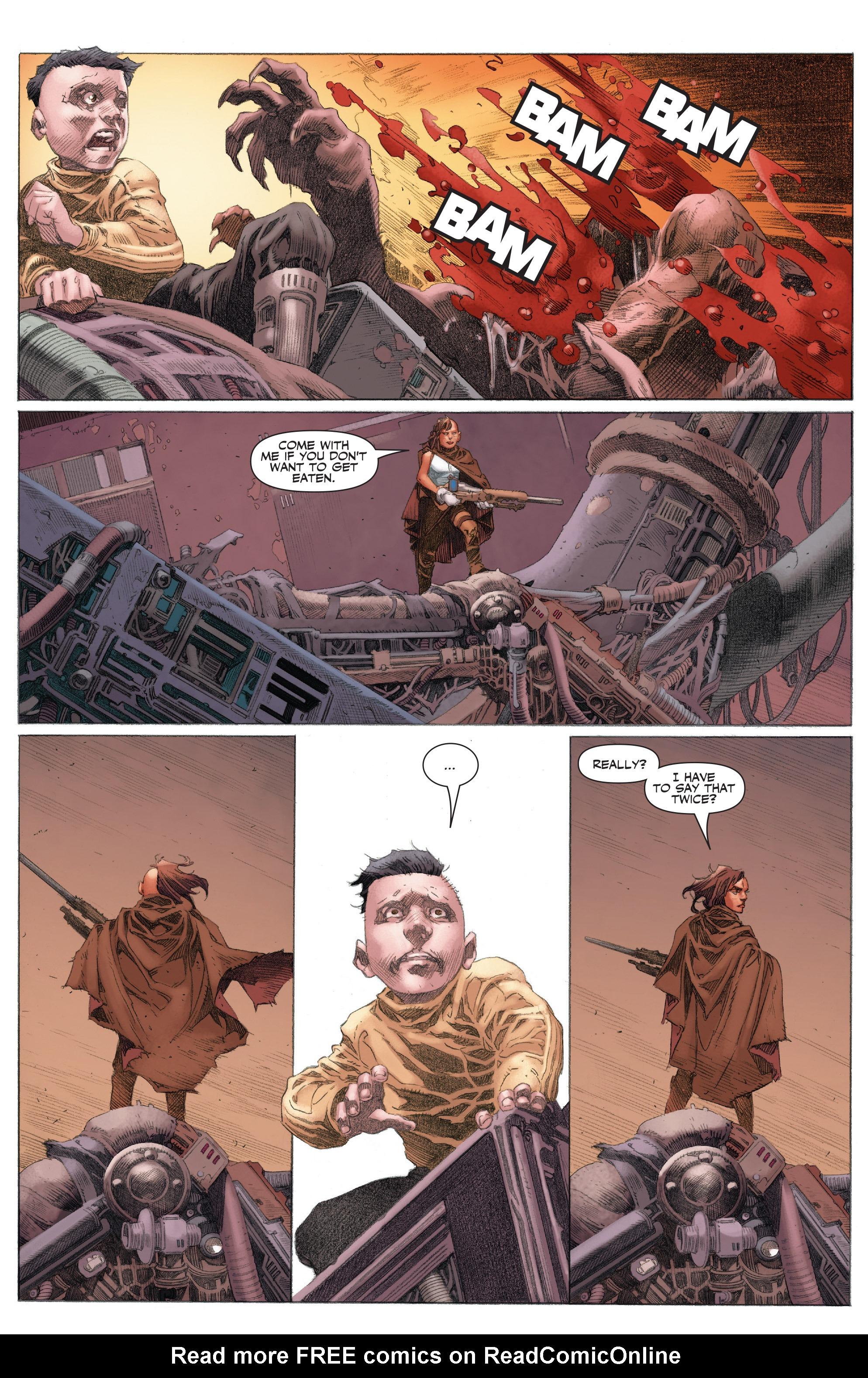 Read online 4001 A.D.: War Mother comic -  Issue #4001 A.D.: War Mother Full - 19